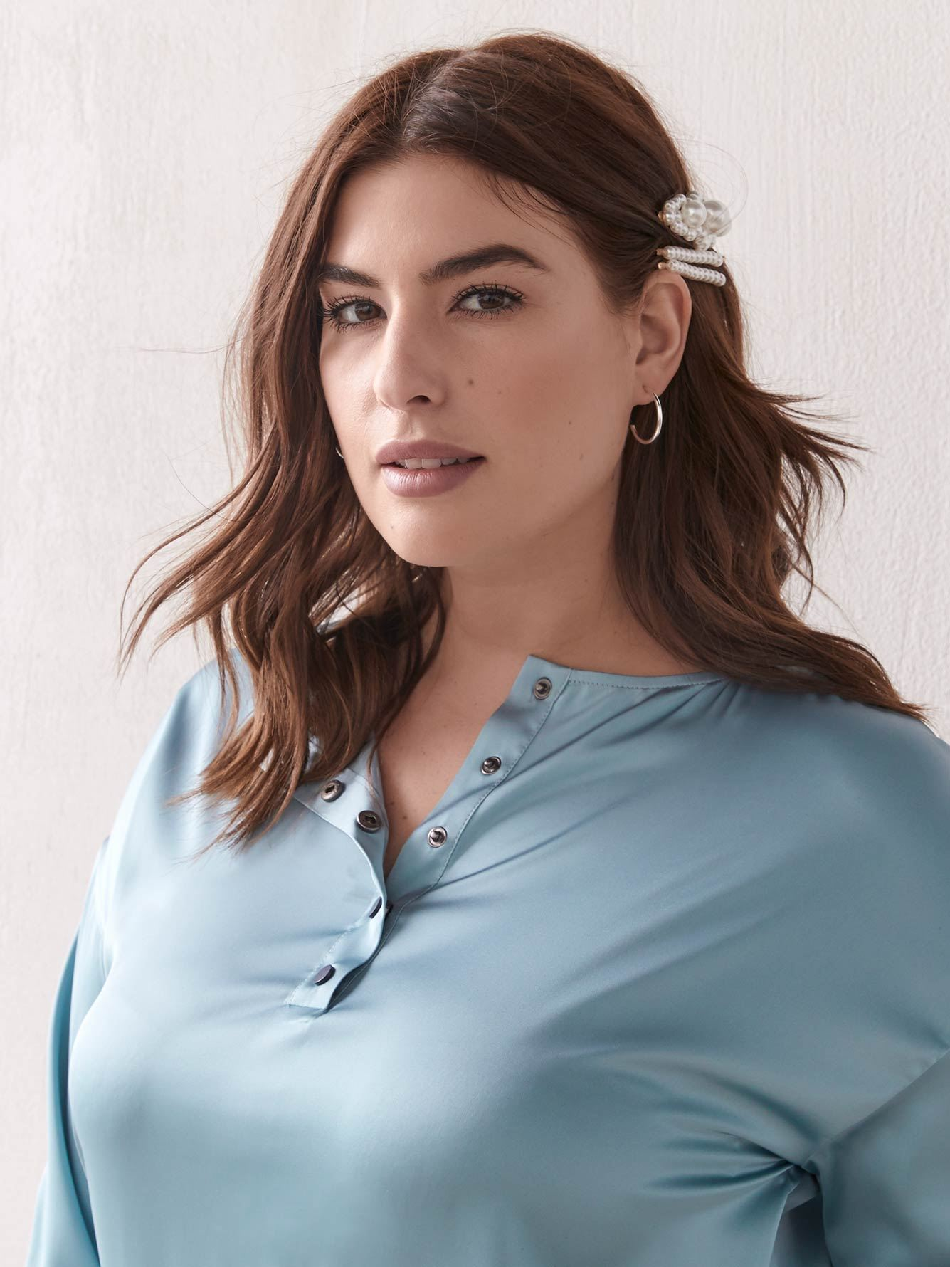 2-Way Cropped Blouse - Addition Elle