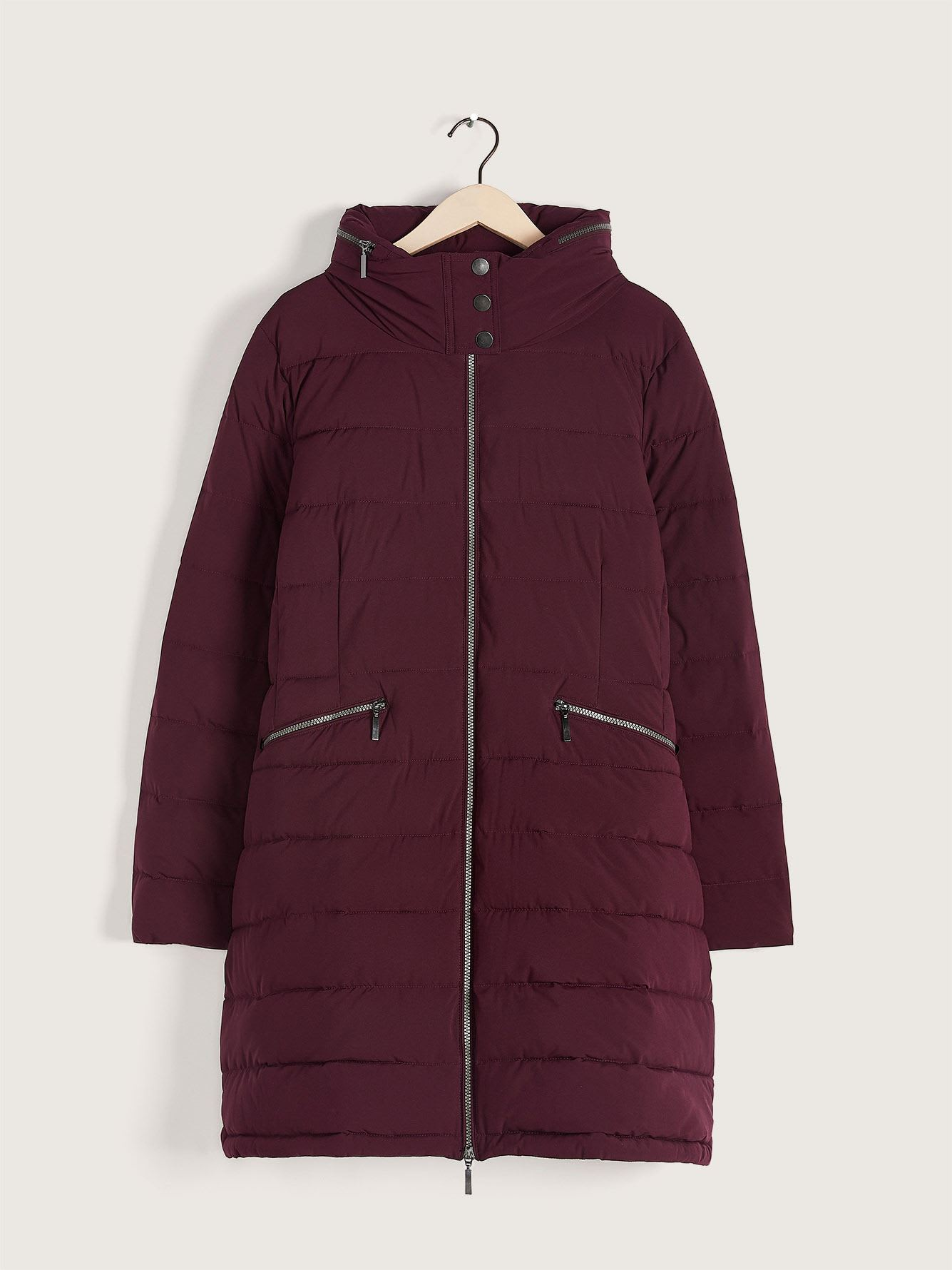 Faux-Down Puffer Jacket - Addition Elle