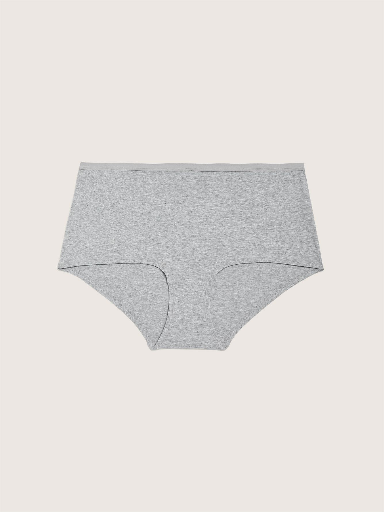 Heathered Cotton Boyshort Panty - Addition Elle