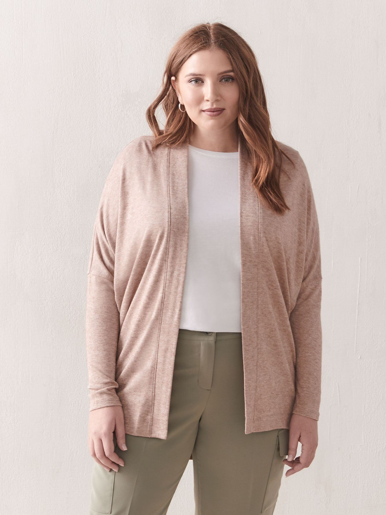 Cardigan ouvert cocon - Addition Elle