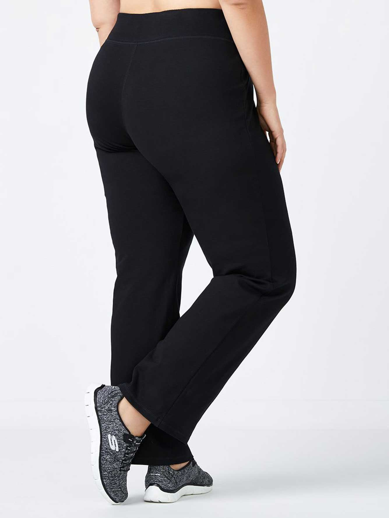 Petite - Plus-Size Basic Relaxed Pant
