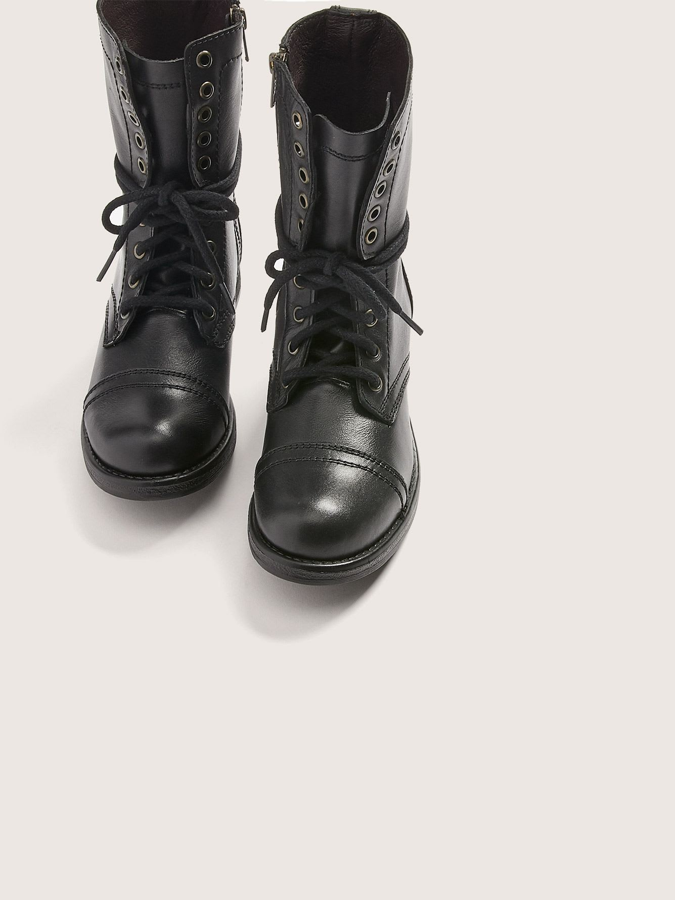 Wide Width Military Booties - Steve Madden