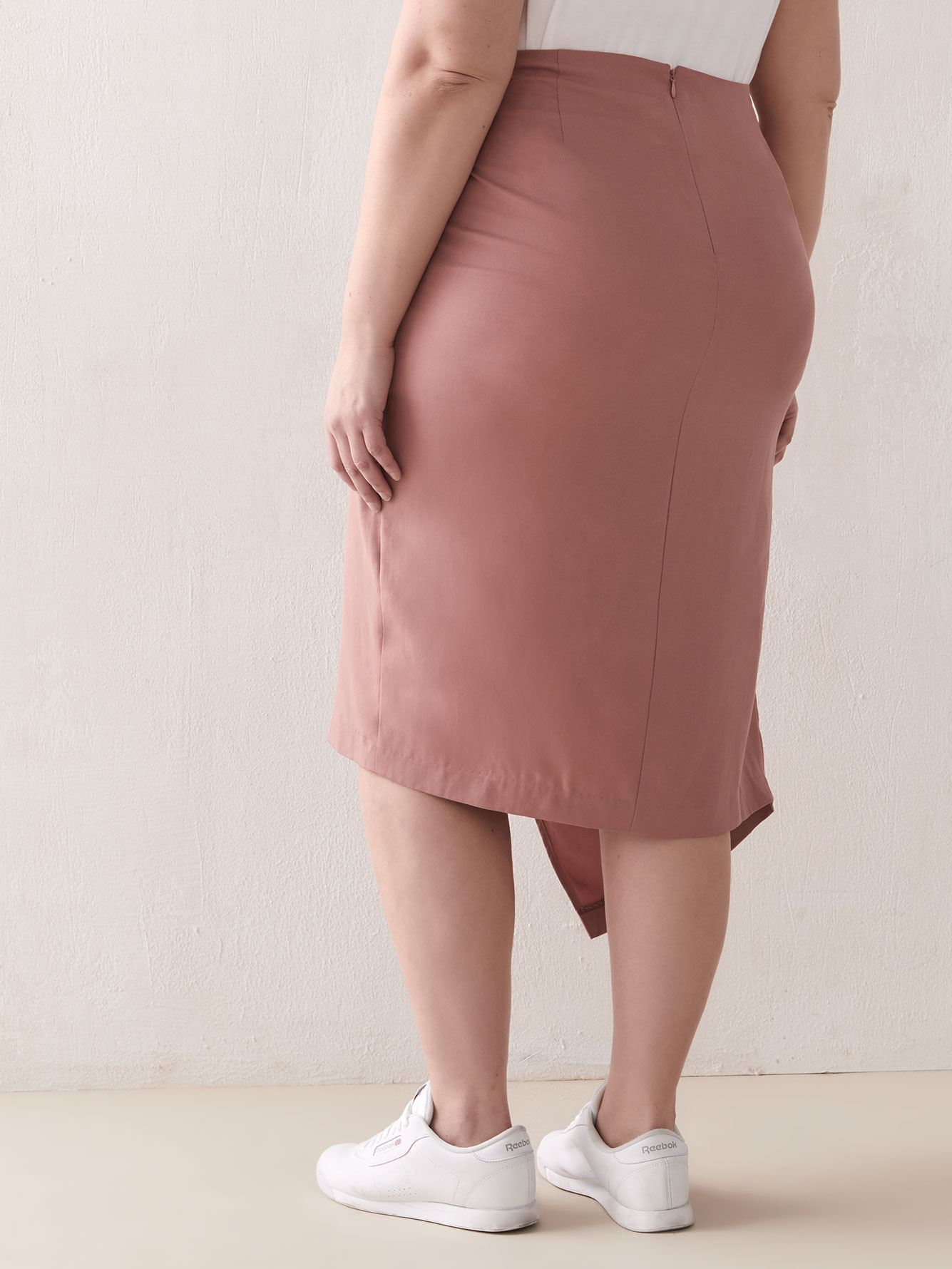 Long Wrap Skirt - Addition Elle