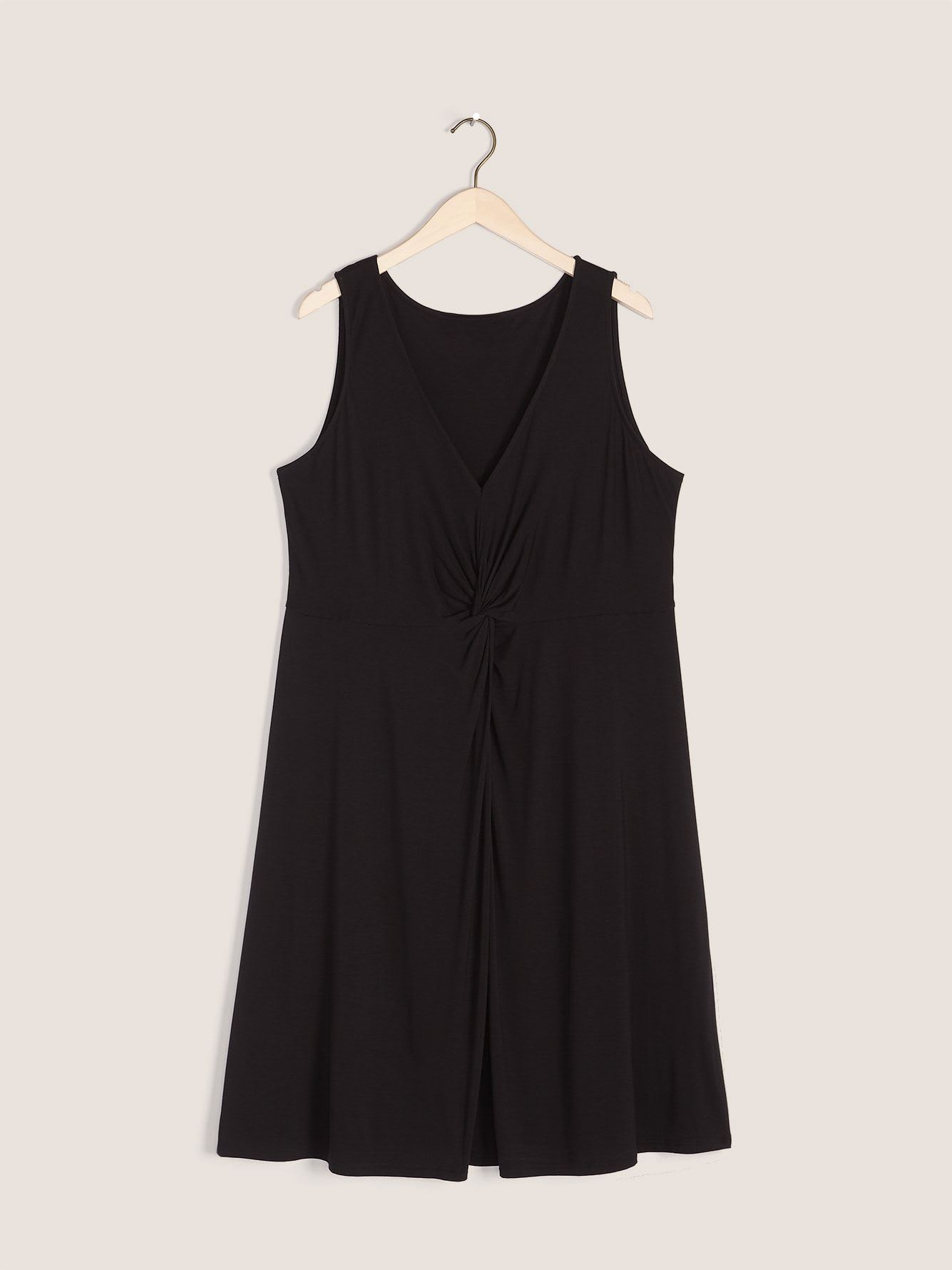 Sleeveless Front-Knot Dress - In Every Story