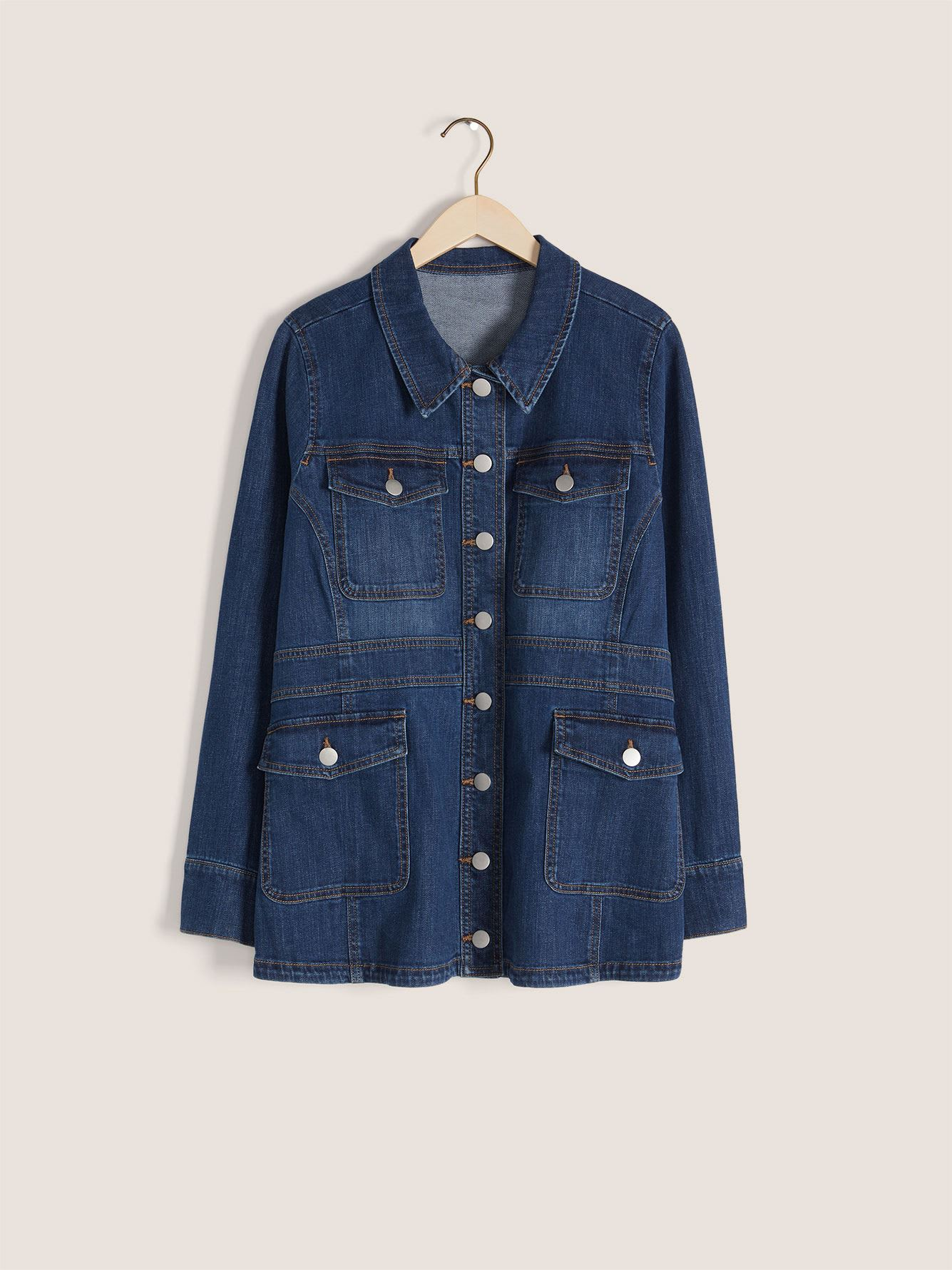 Safari Denim Jacket - In Every Story