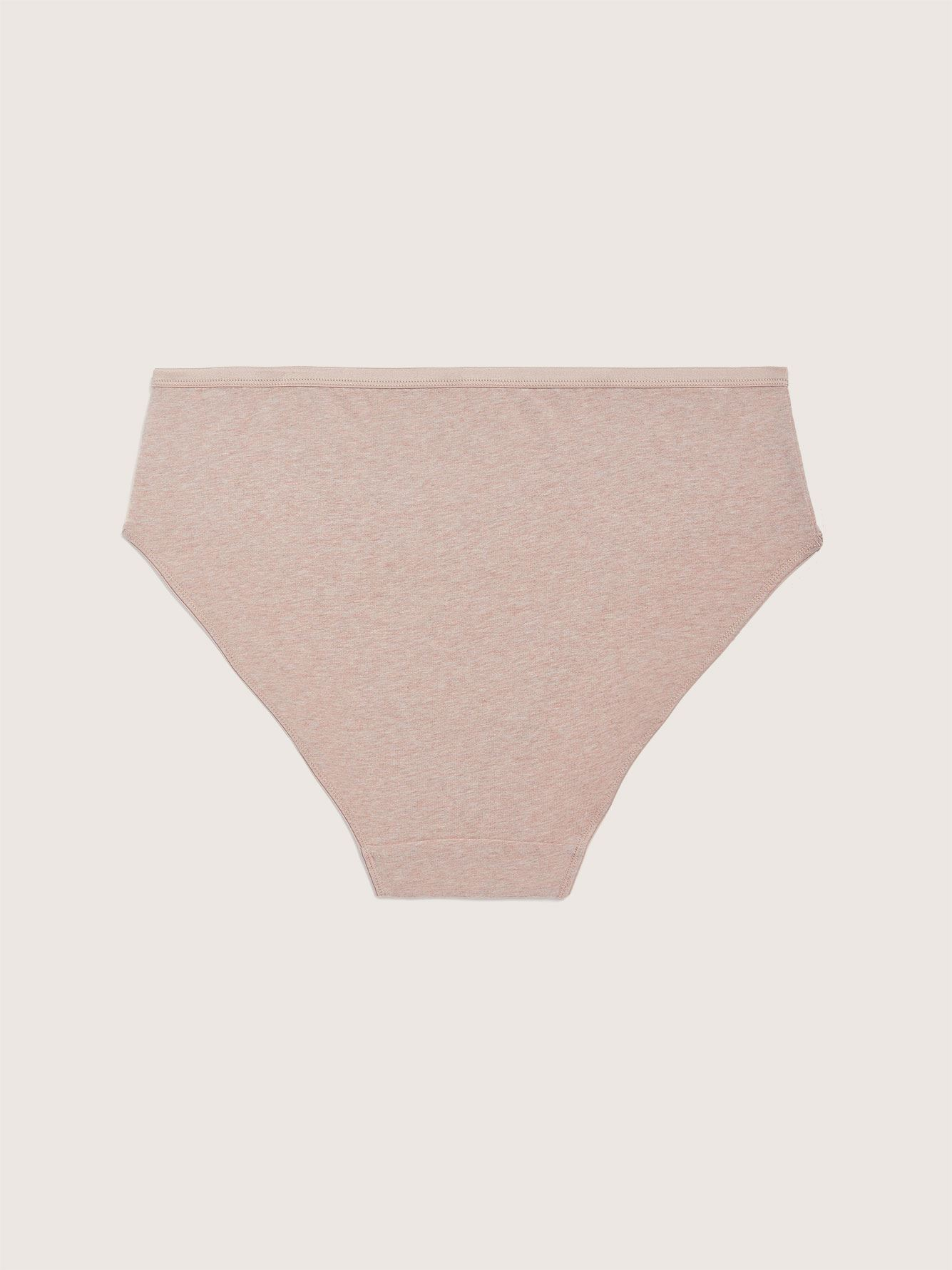 Heathered High Cut Brief Panty - Addition Elle