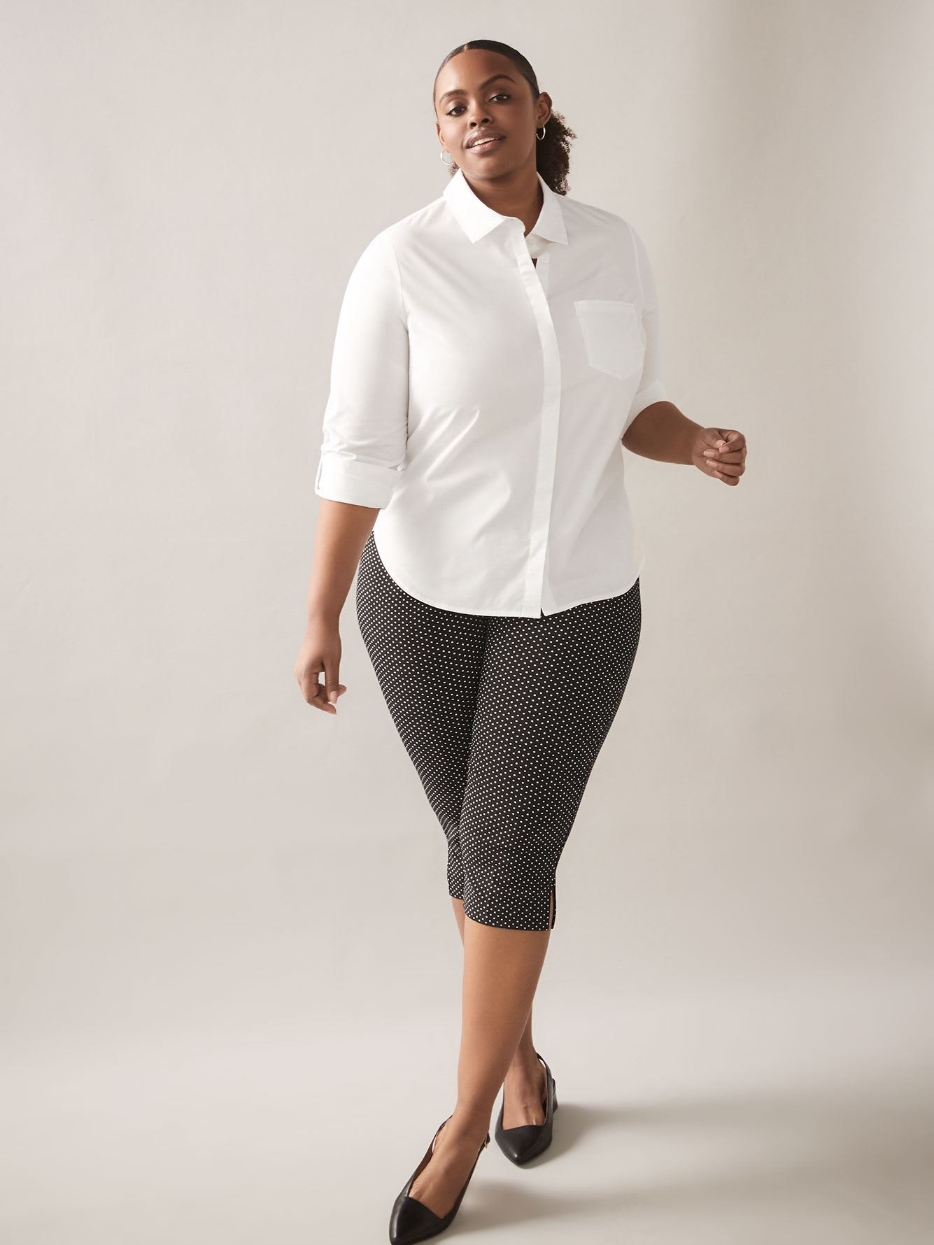 Structured Poplin Blouse - In Every Story