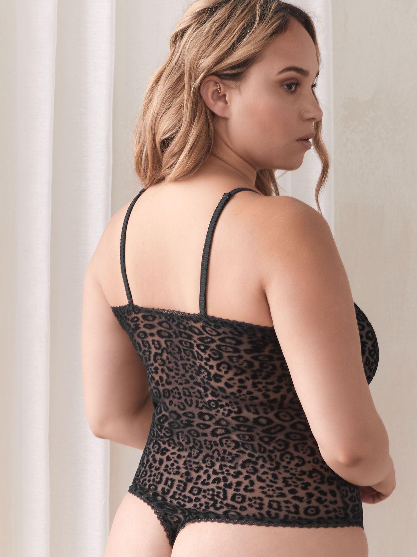 Teddy Mesh Temptation Lace Bodysuit - Cosabella