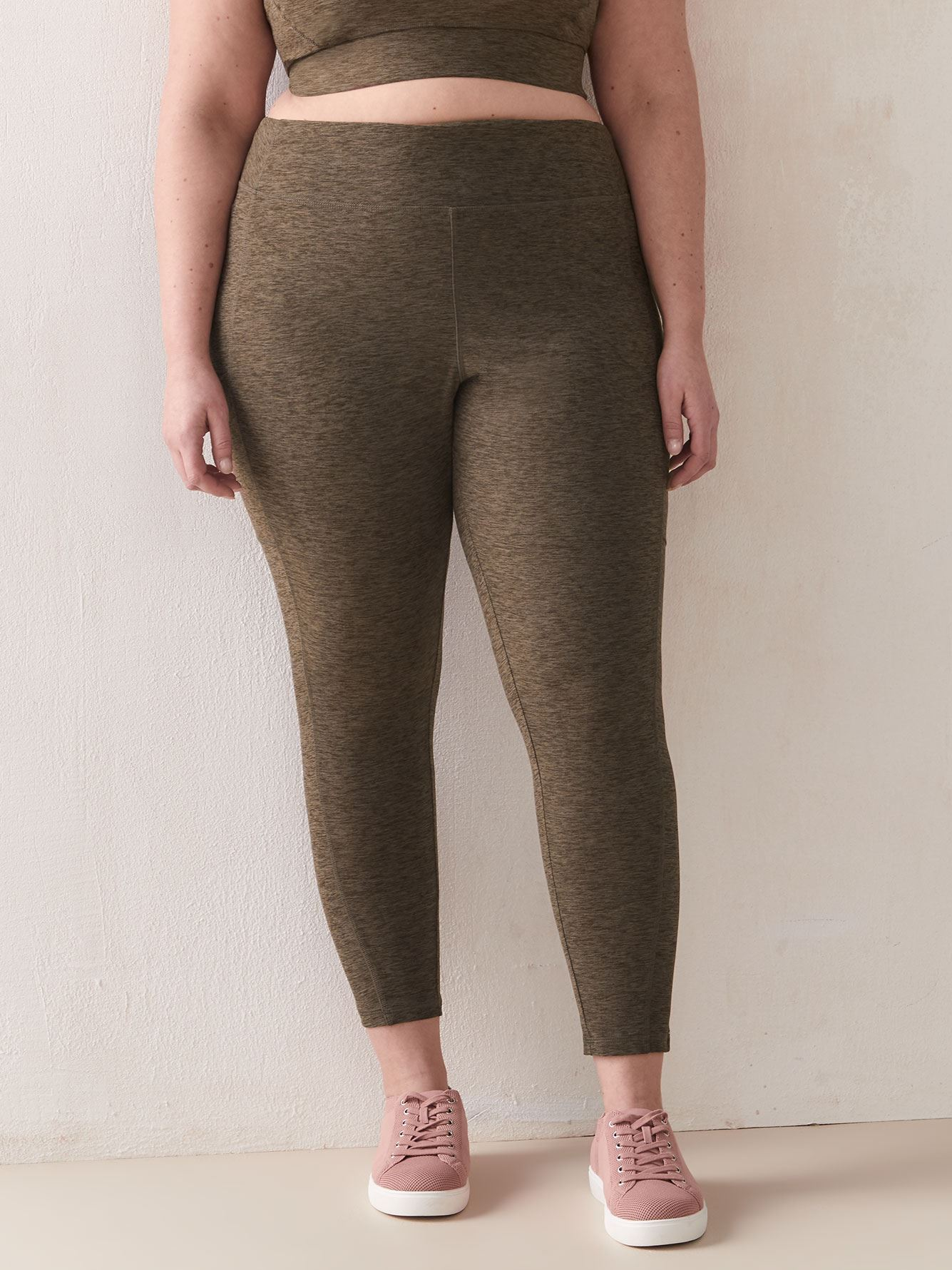 Namaste Space-Dye 7/8 Legging - ActiveZone