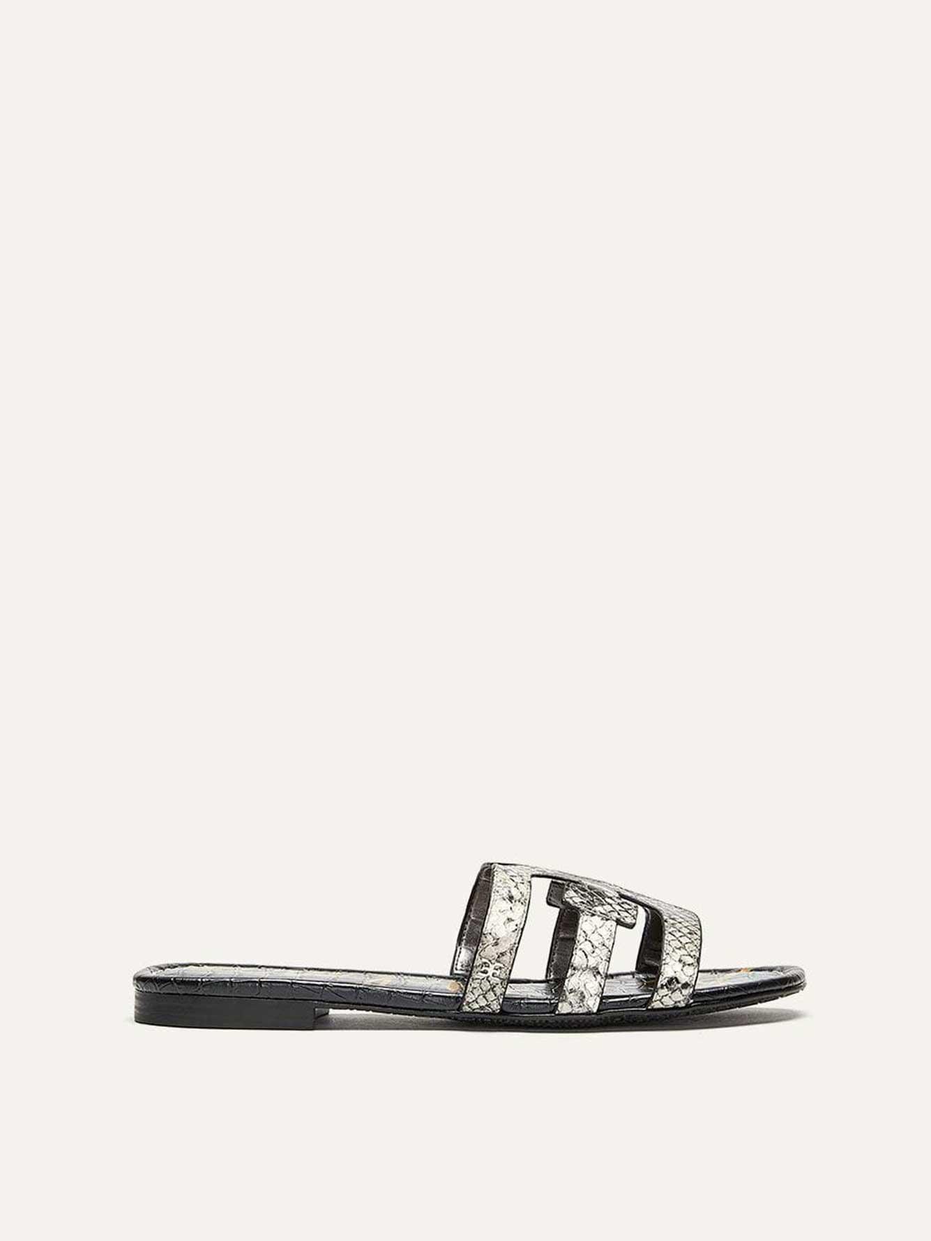Wide Leather Sandals - Sam Edelman