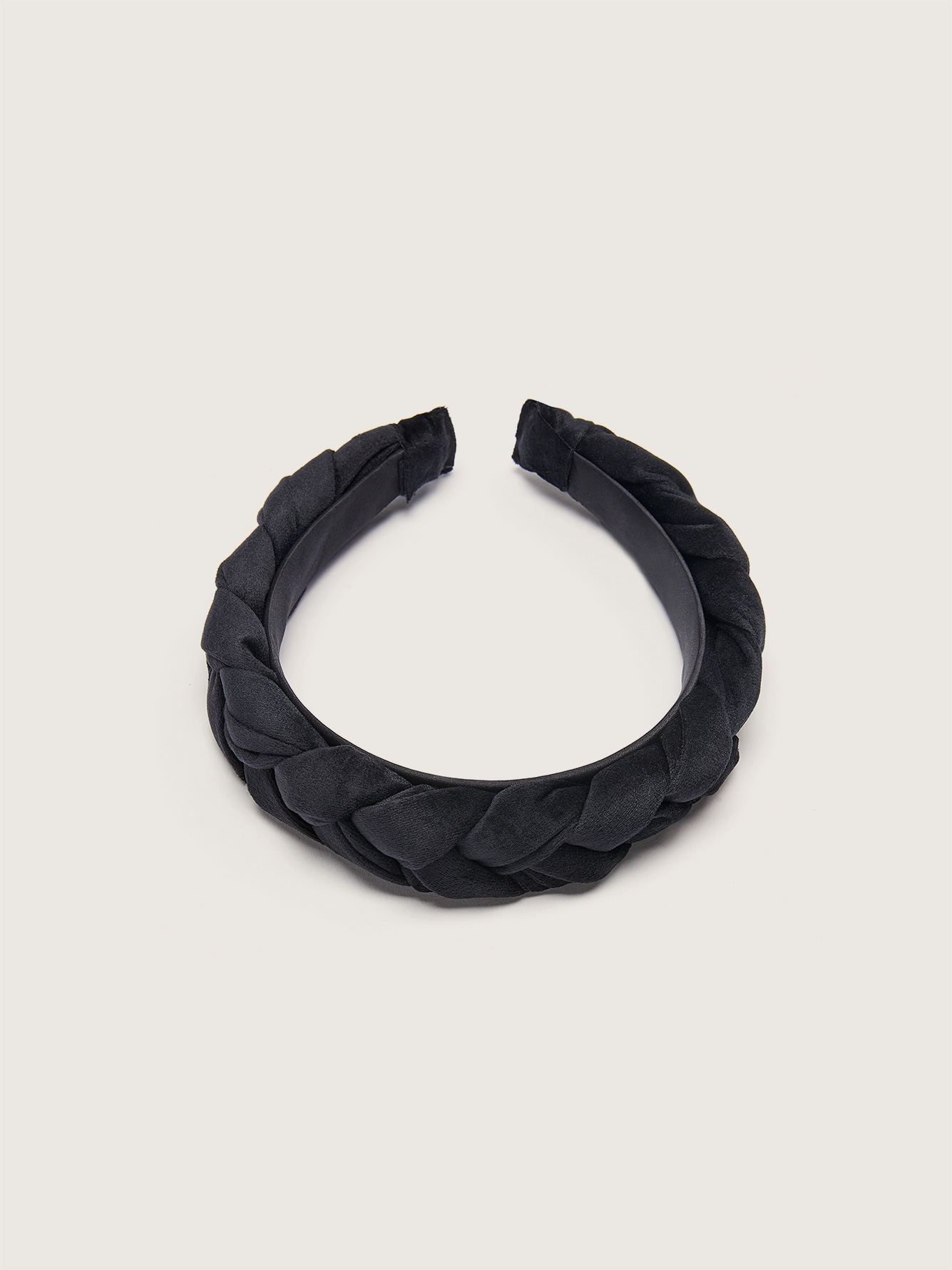 Velvet Braided Headband - Addition Elle
