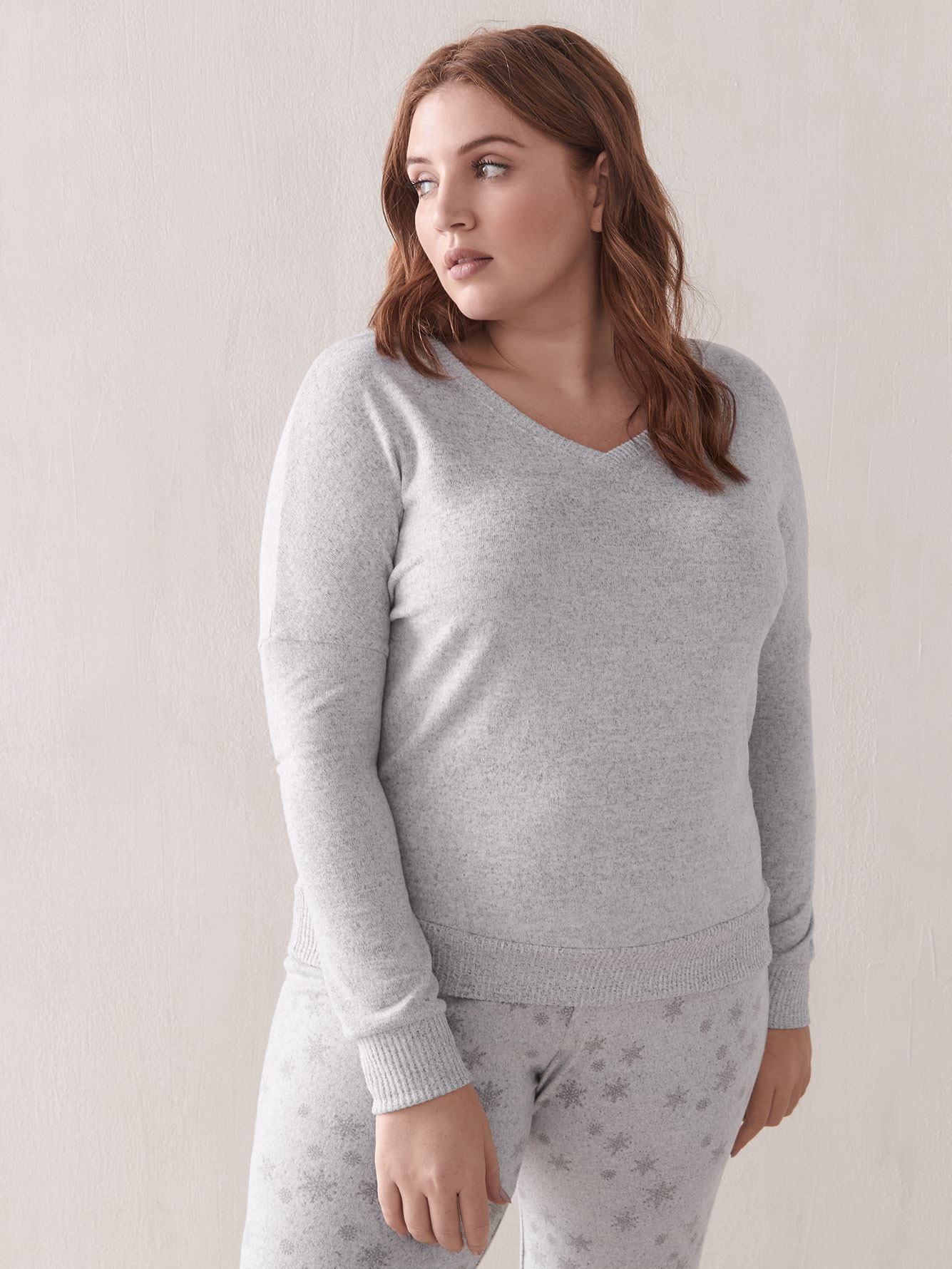 Long-Sleeve PJ Top - Addition Elle