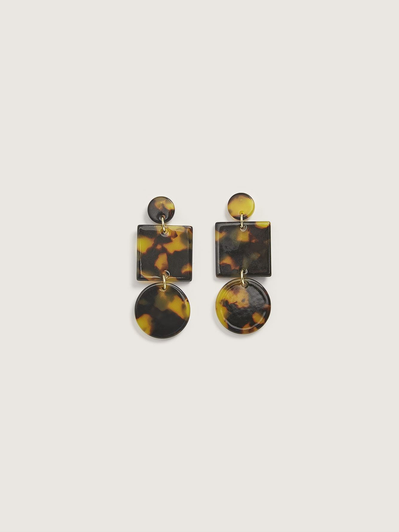 Geometric Totem Earrings - Sundara Mar