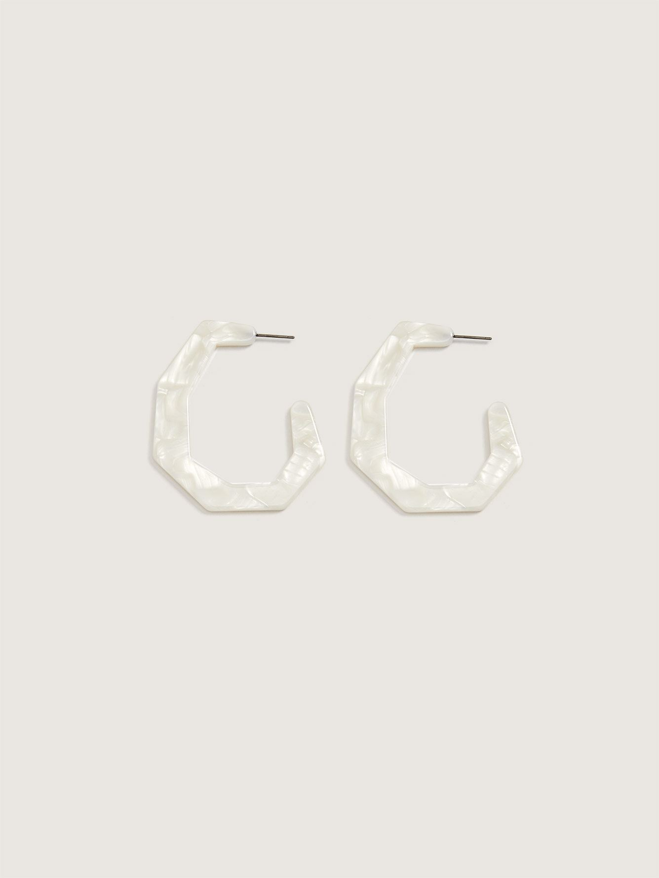 Jackie Hoop Earrings - Sundara Mar