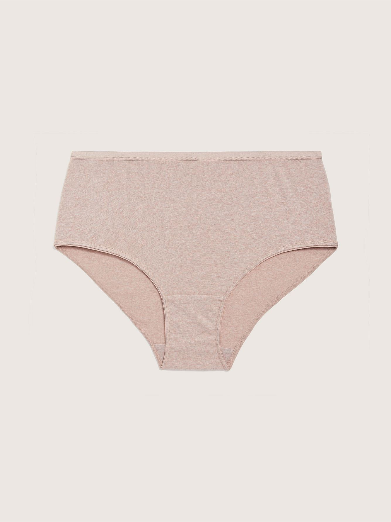 Heathered Brief Panty - Addition Elle