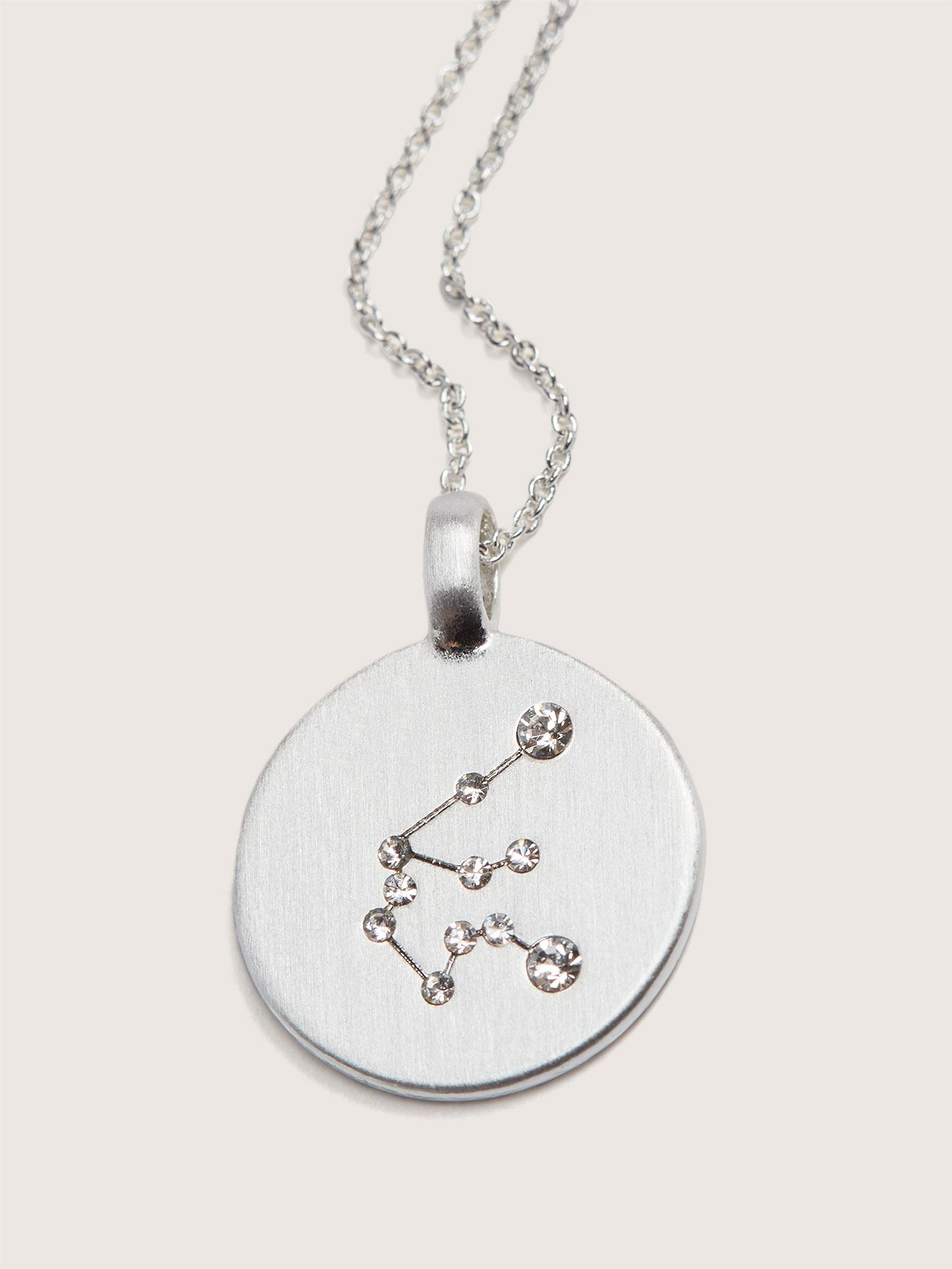 Silver Plated Star Sign Necklace - Pilgrim