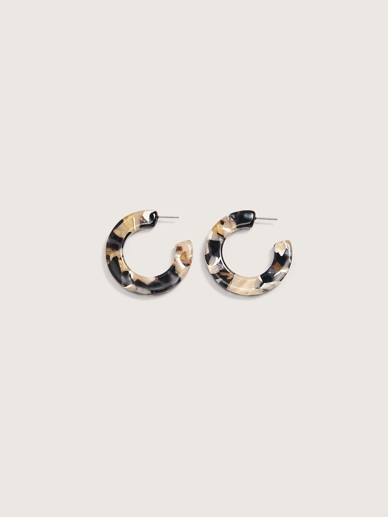 Kate Hoops Earrings - Machete