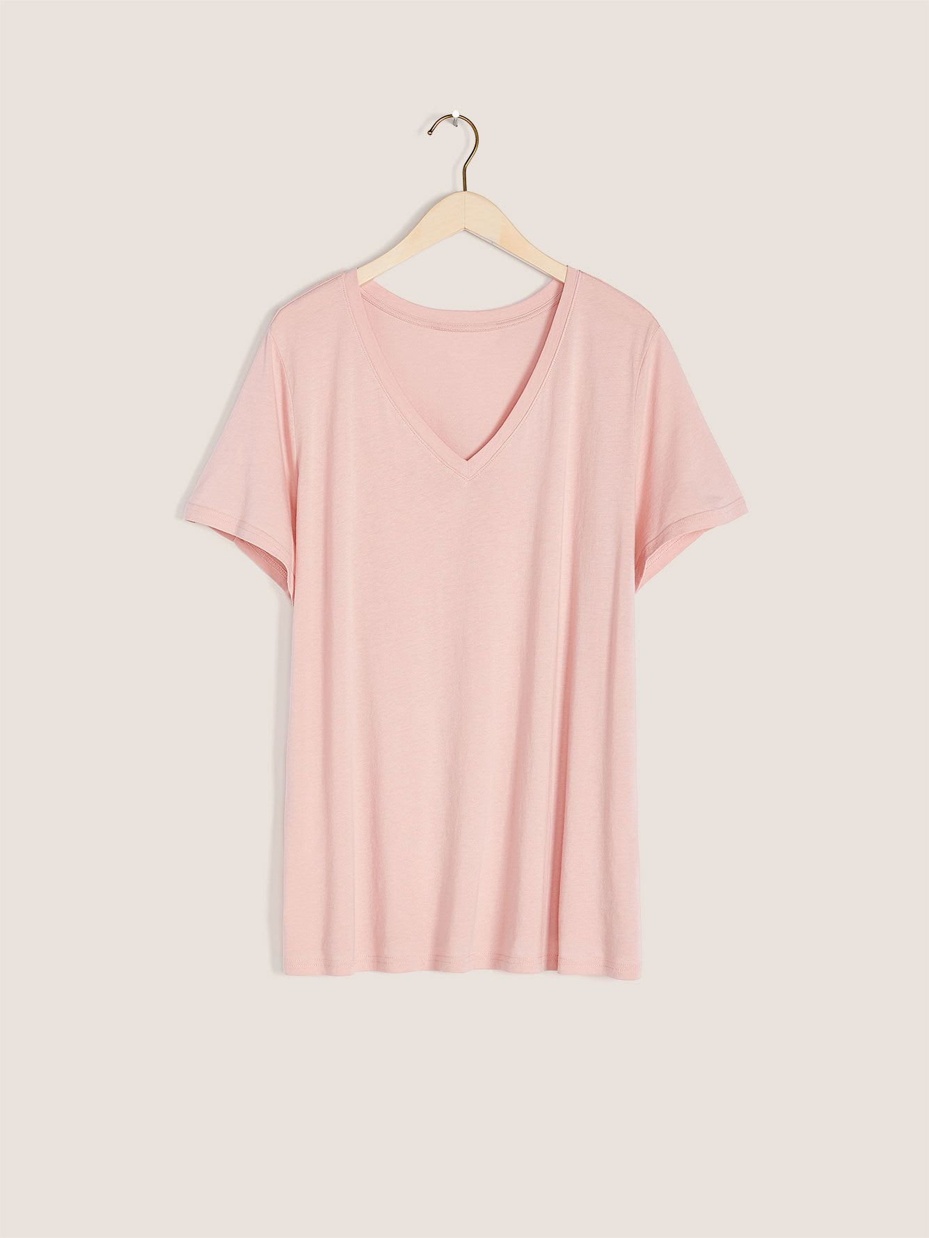 Short-Sleeve V-Neck T-Shirt - In Every Story