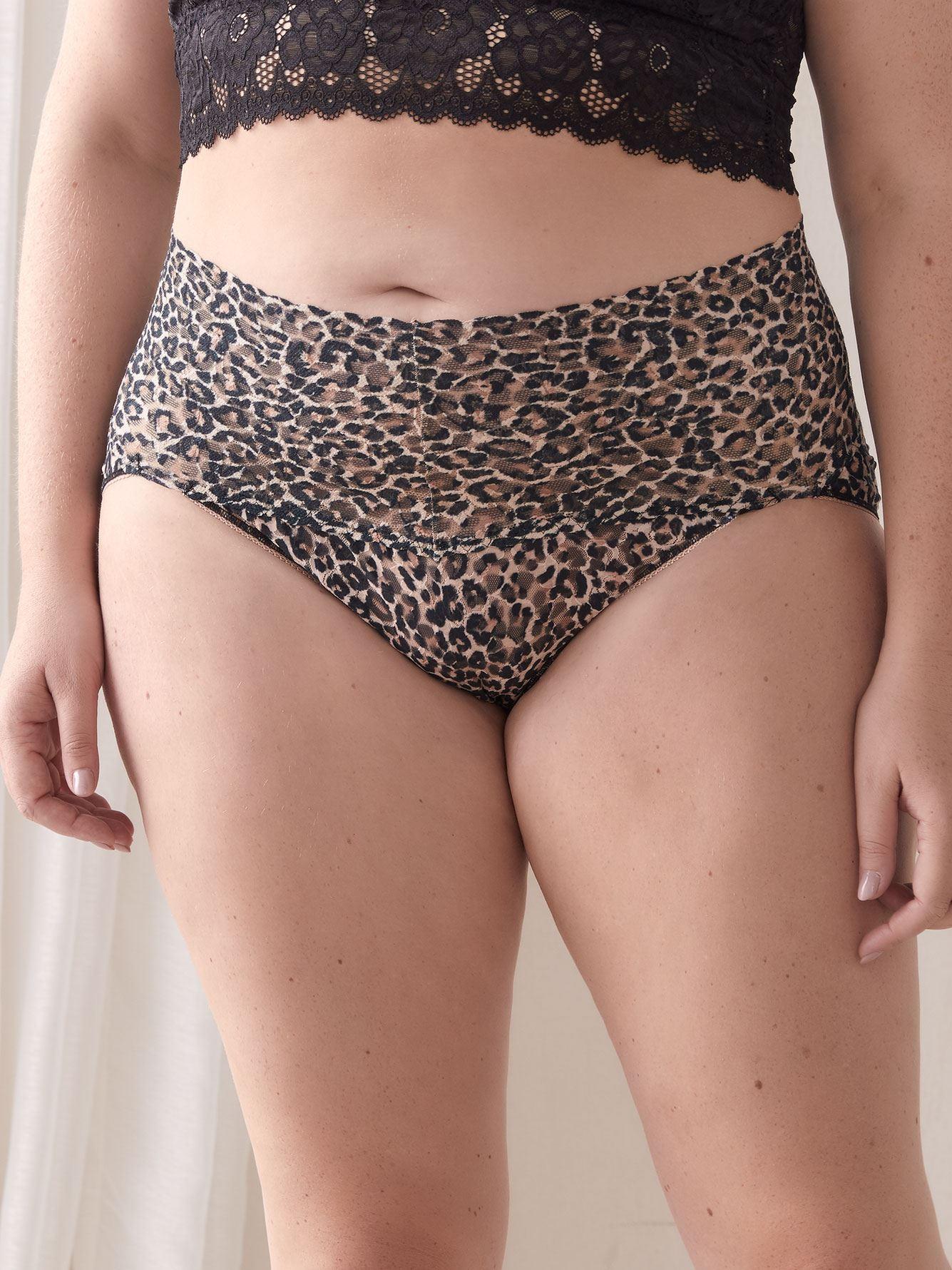 Retro Lace Bikini-Style Panty - Hanky Panky