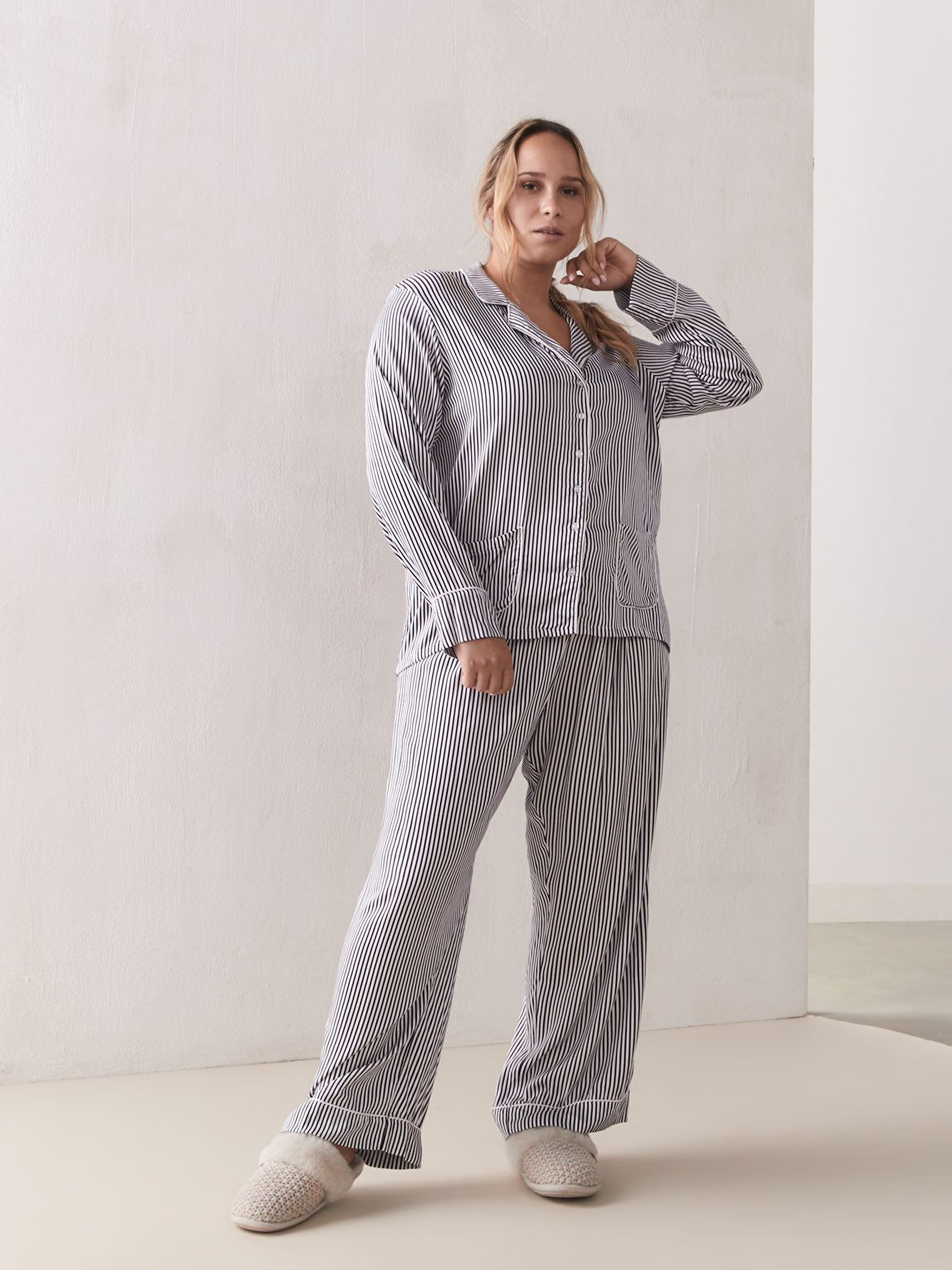 Loose-Fit Printed PJ Set - Splendid