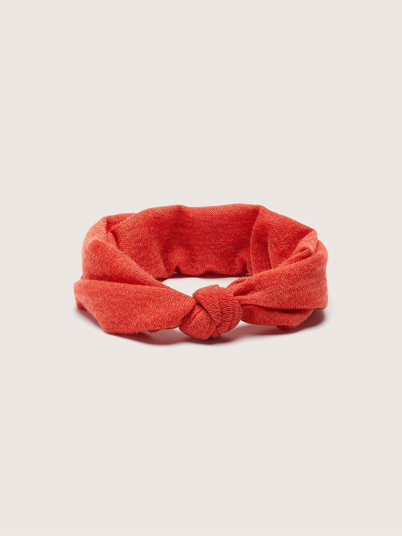 Knotted Light Knit Headband - Gibou