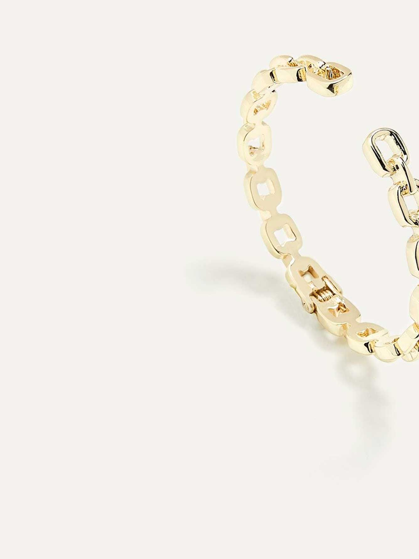 Hinged Chain Bracelet