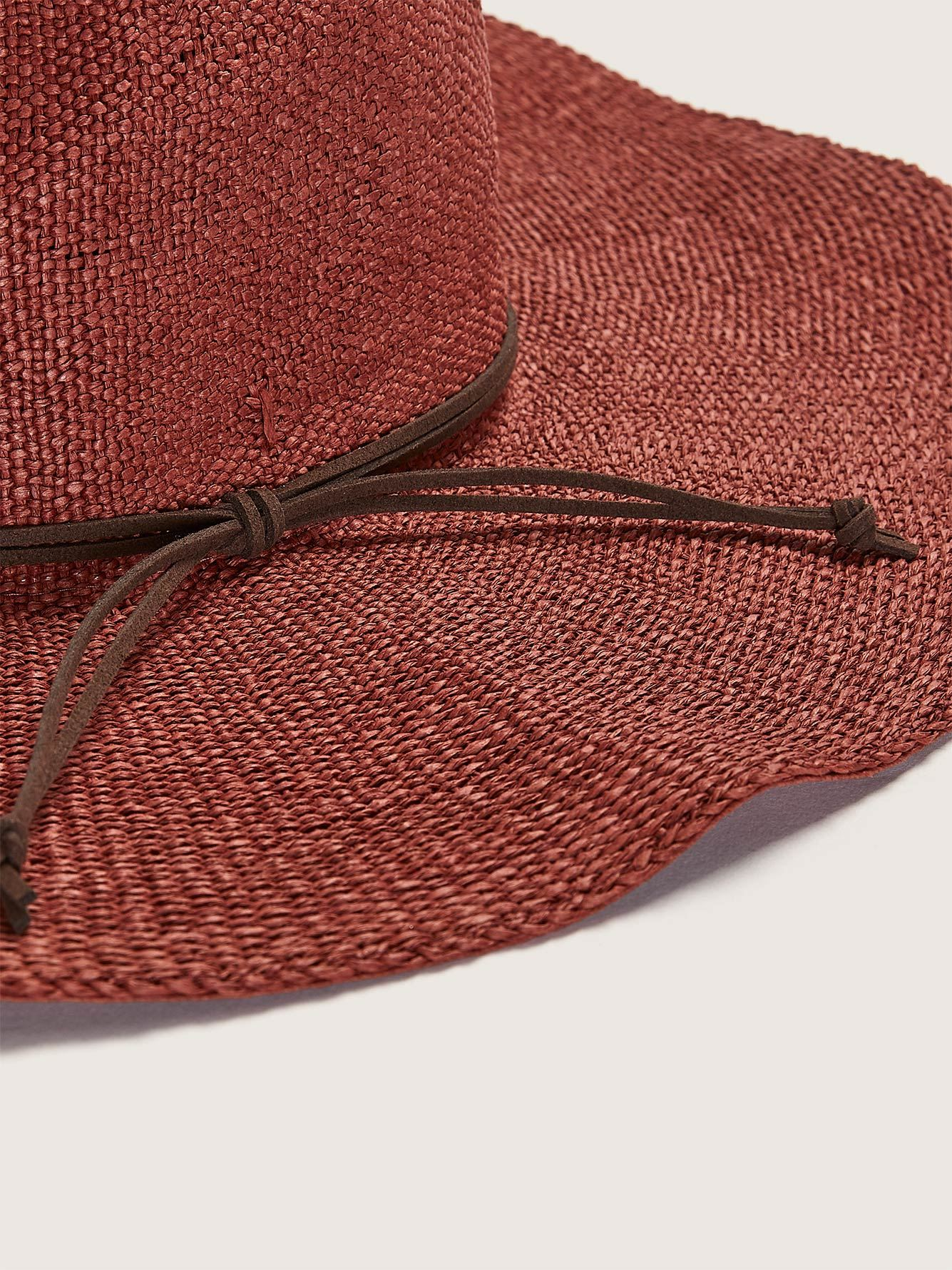 Wide Brim Straw Hat - Addition Elle