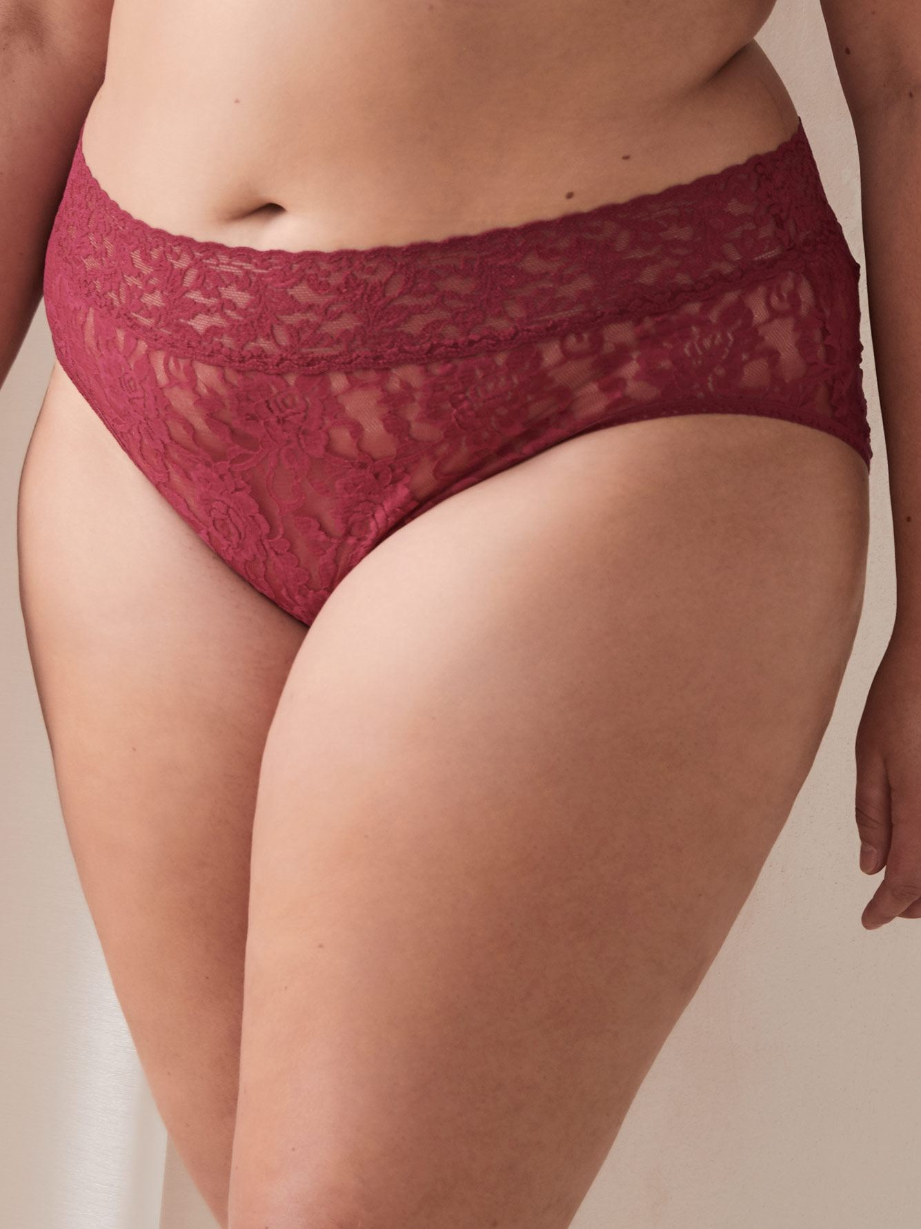 Lace High Cut French Brief Panty - Hanky Panky