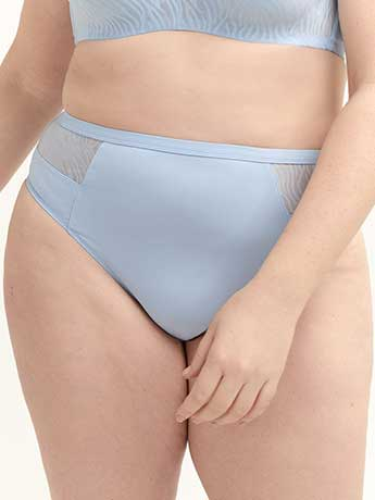 Solid High Cut Brief Panty - ti Voglio