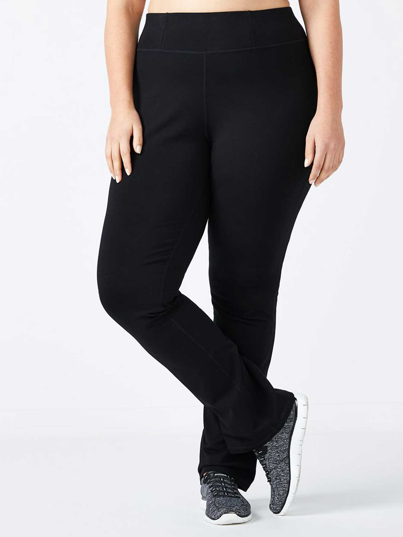 Pantalon de yoga taille plus basique - Essentials