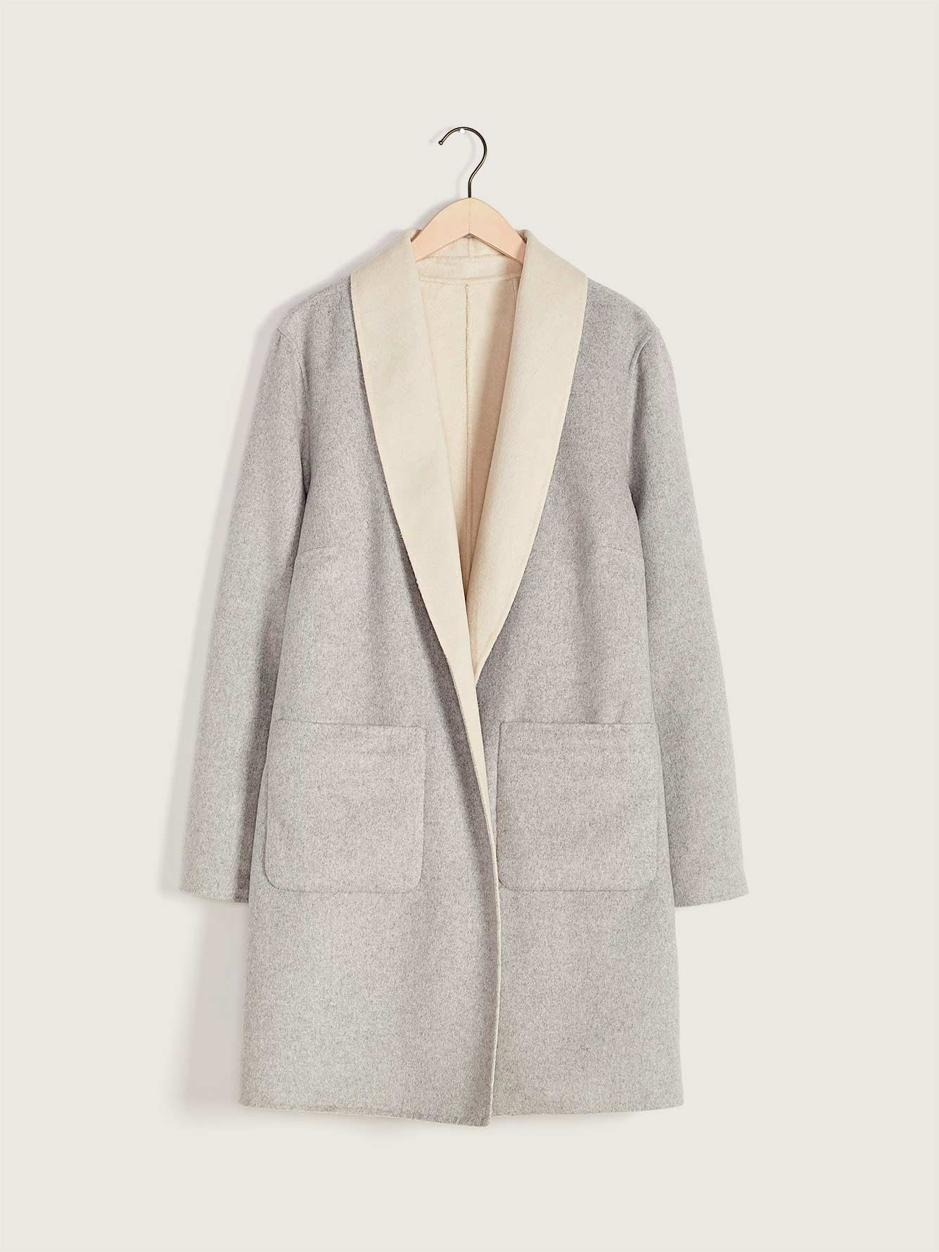 Double-Faced Duster Coat - Addition Elle
