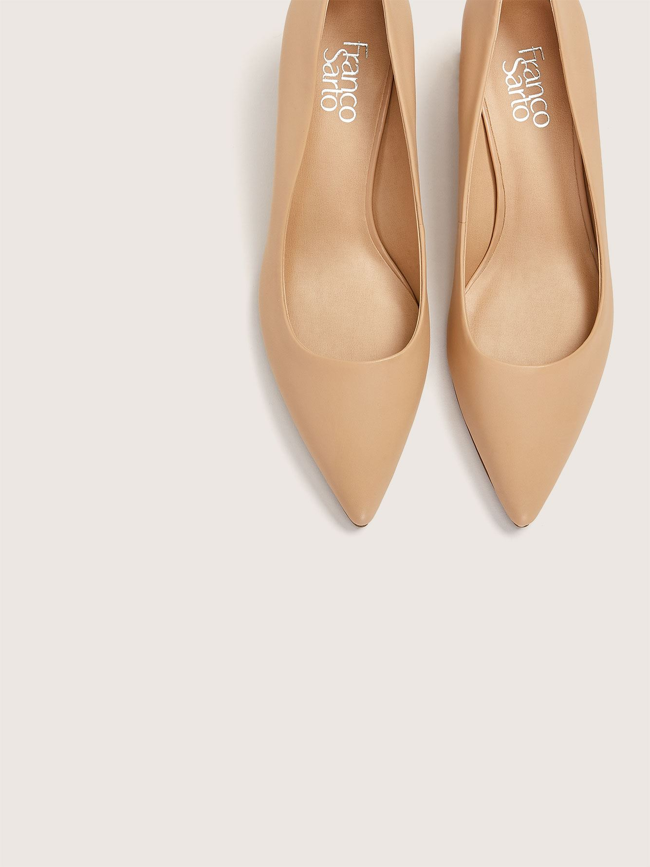 Wide Global Leather Pump - Franco Sarto