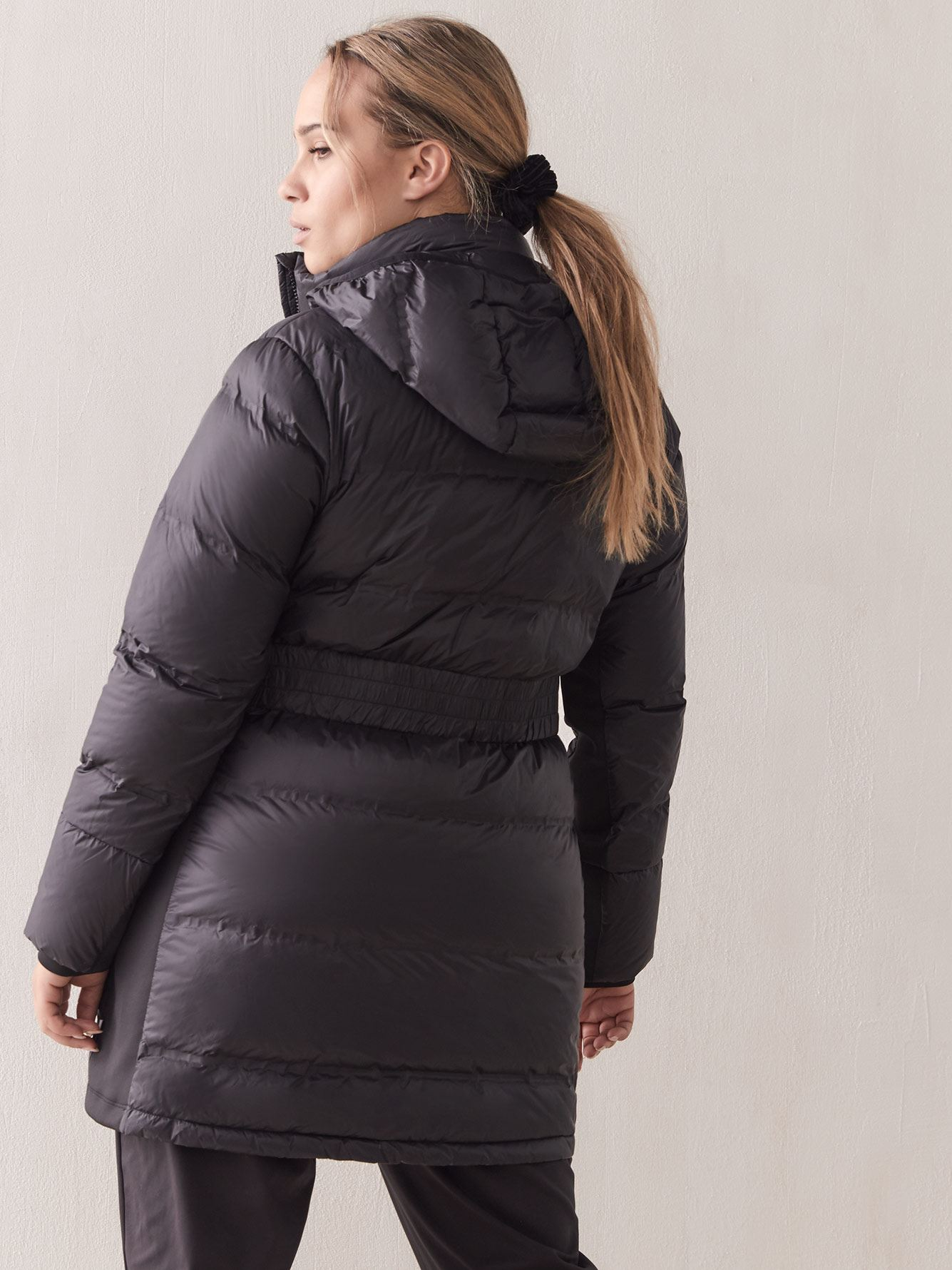 Mid-Length Packable Puffer Jacket - Addition Elle