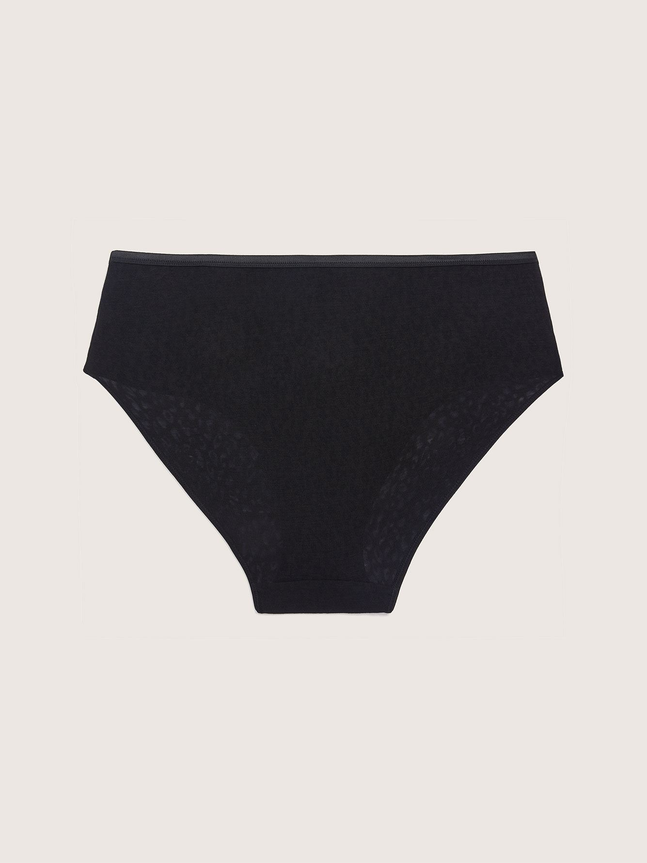 High Cut Burnout Brief Panty - Addition Elle