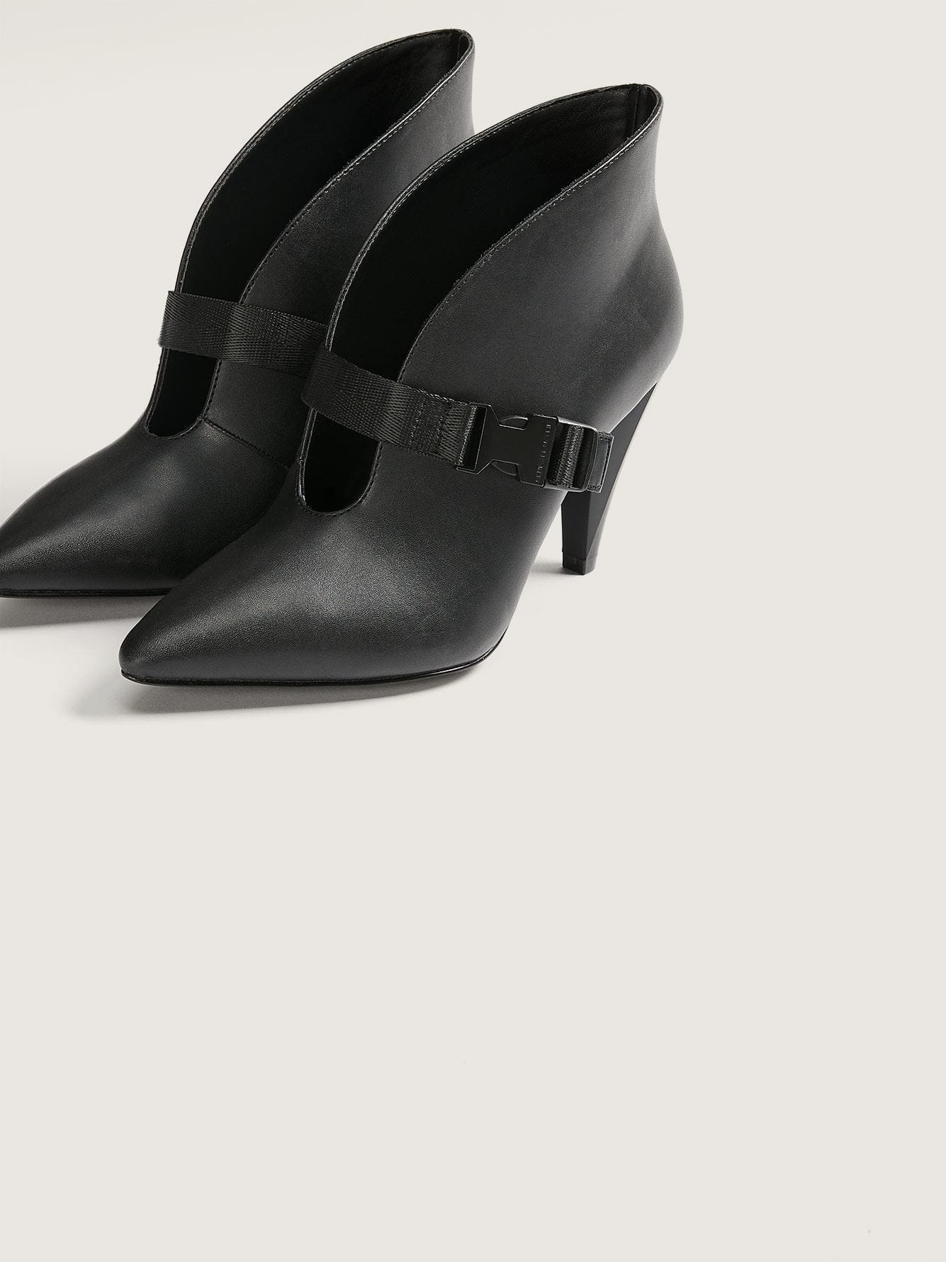 Wide Dana Pump Shoes with Buckle Strap - Kendall + Kylie