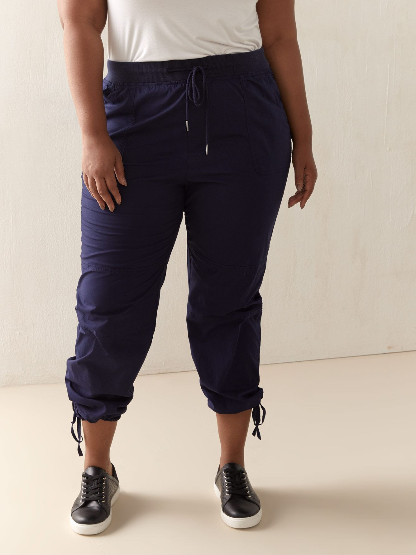 Cotton Cargo Pants with Front Pockets - In Every Story