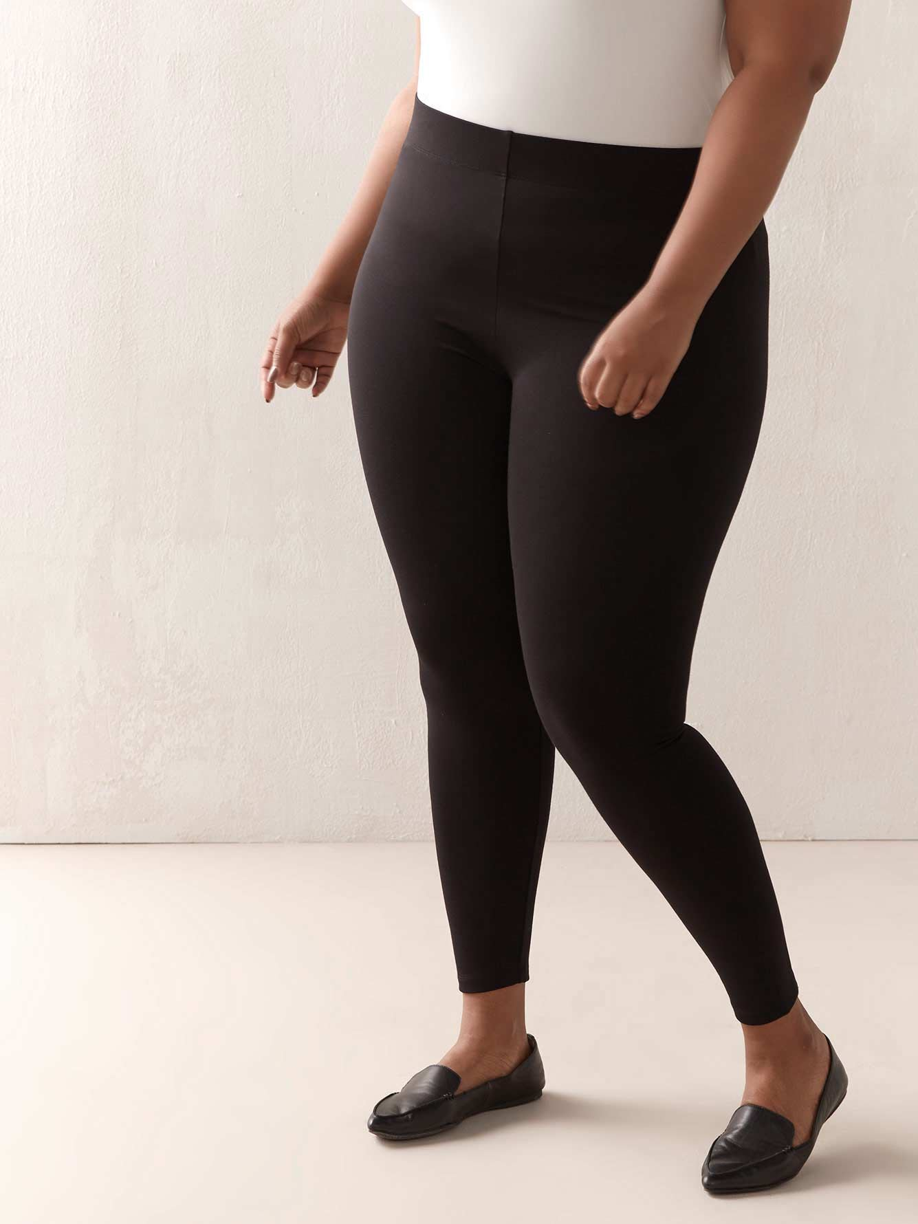 TALL PDR Legging with Elastic Waistband - Addition Elle