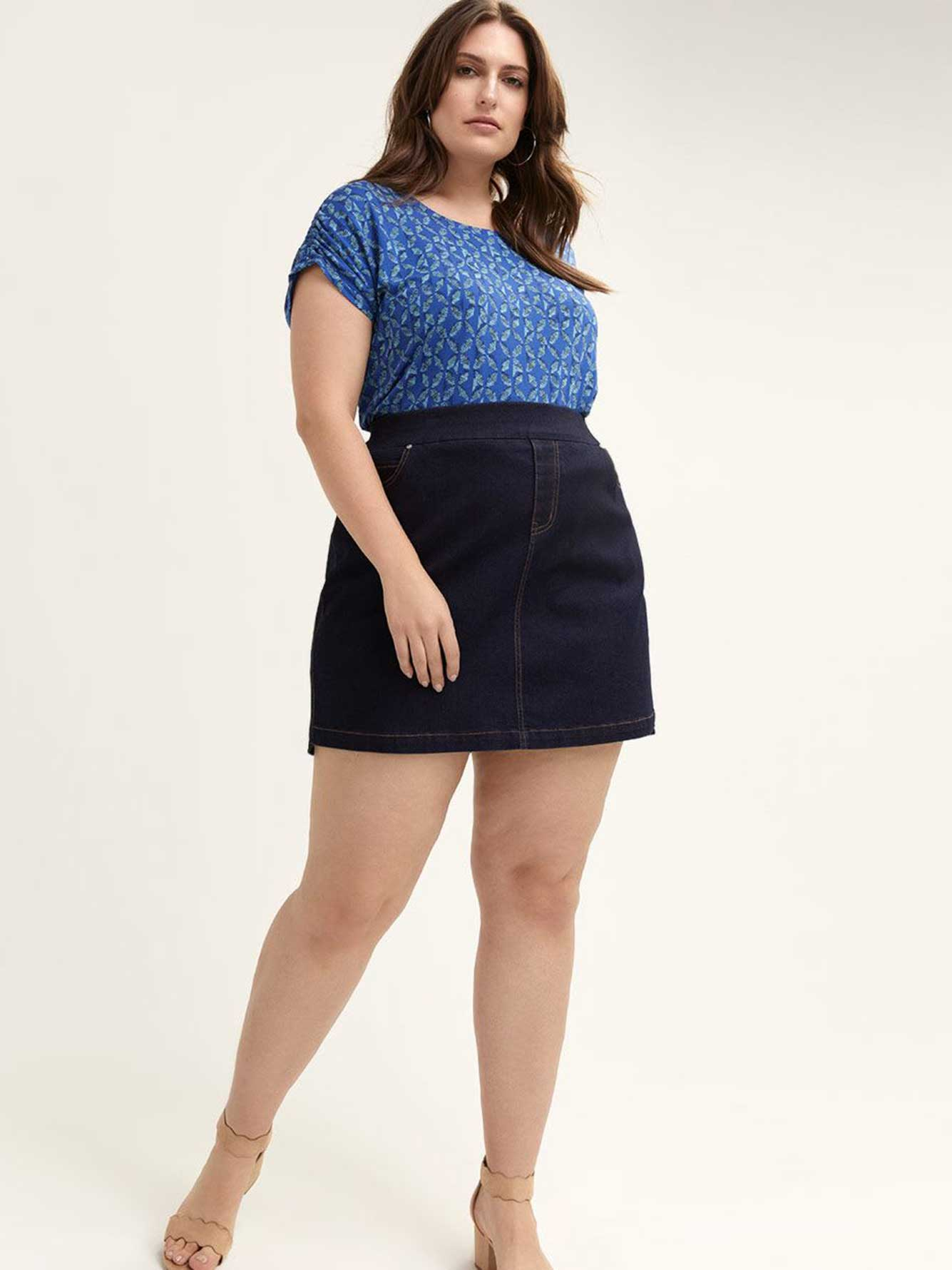Universal Fit Denim Skort - d/C JEANS