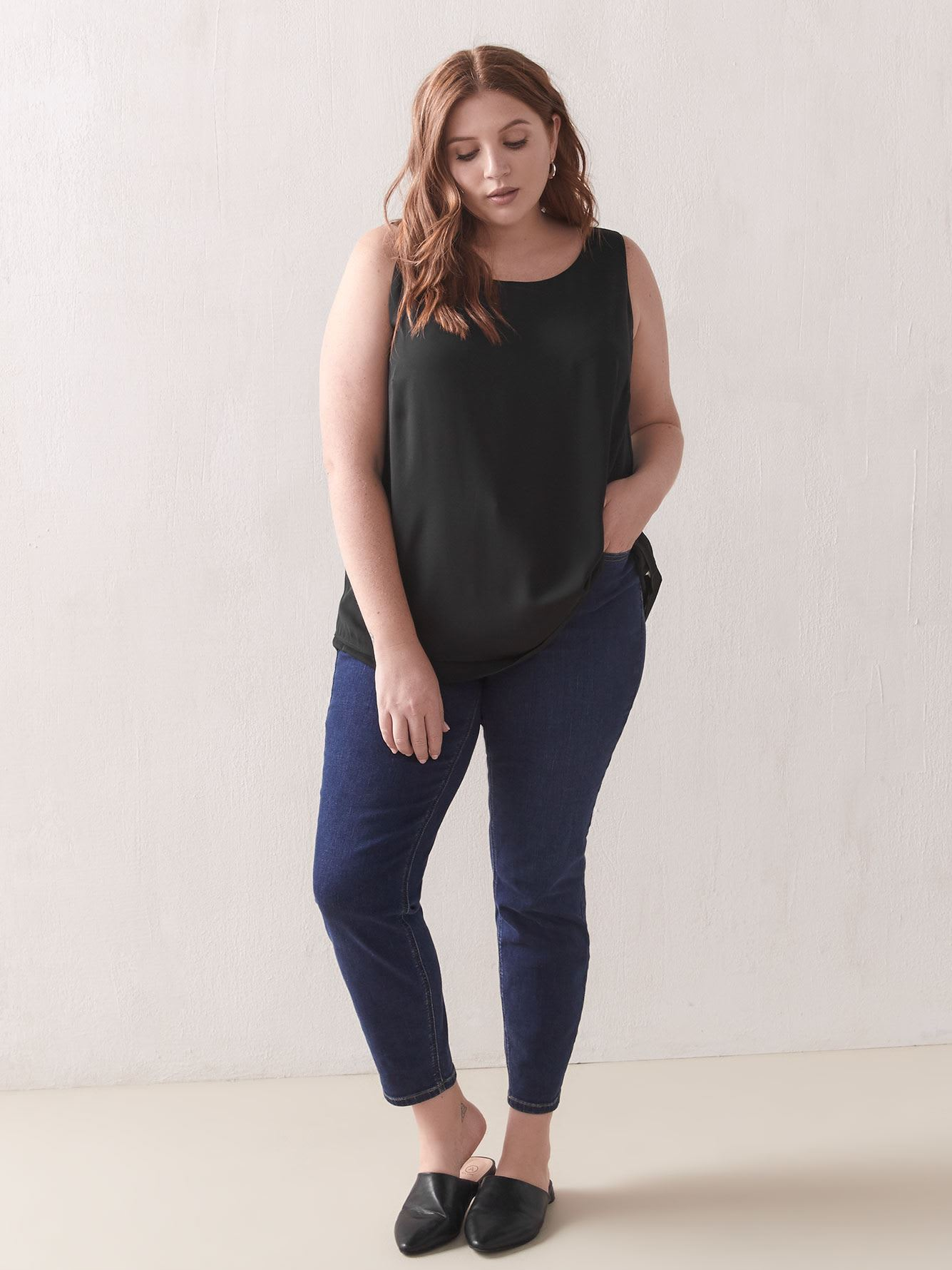 Hi-Low Swing Tank Top - Addition Elle