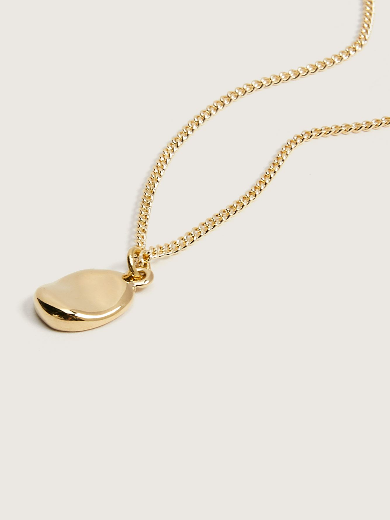 14K Plated Capri Pendant Necklace - Biko