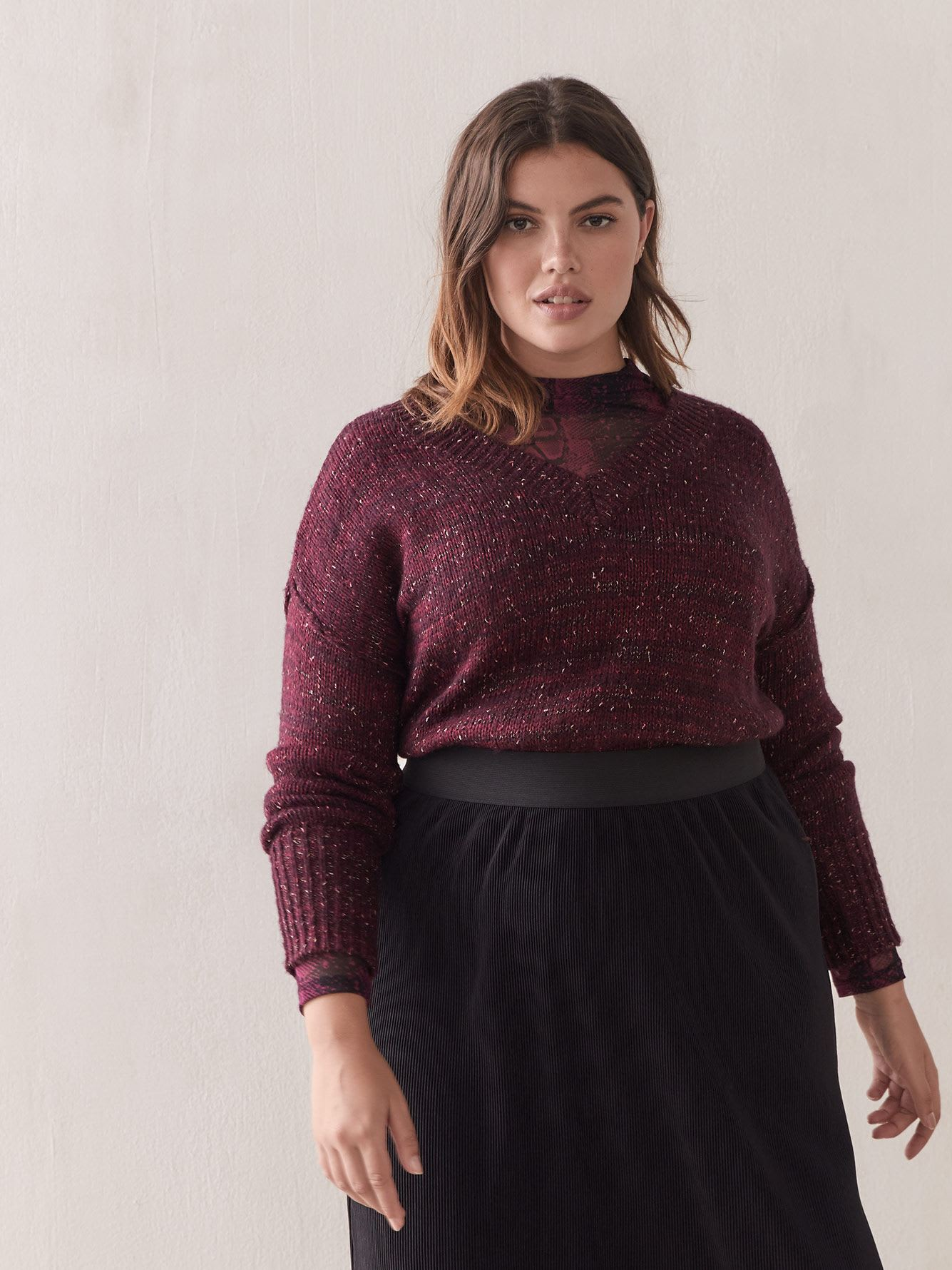 Pull en maille lurex - Addition Elle