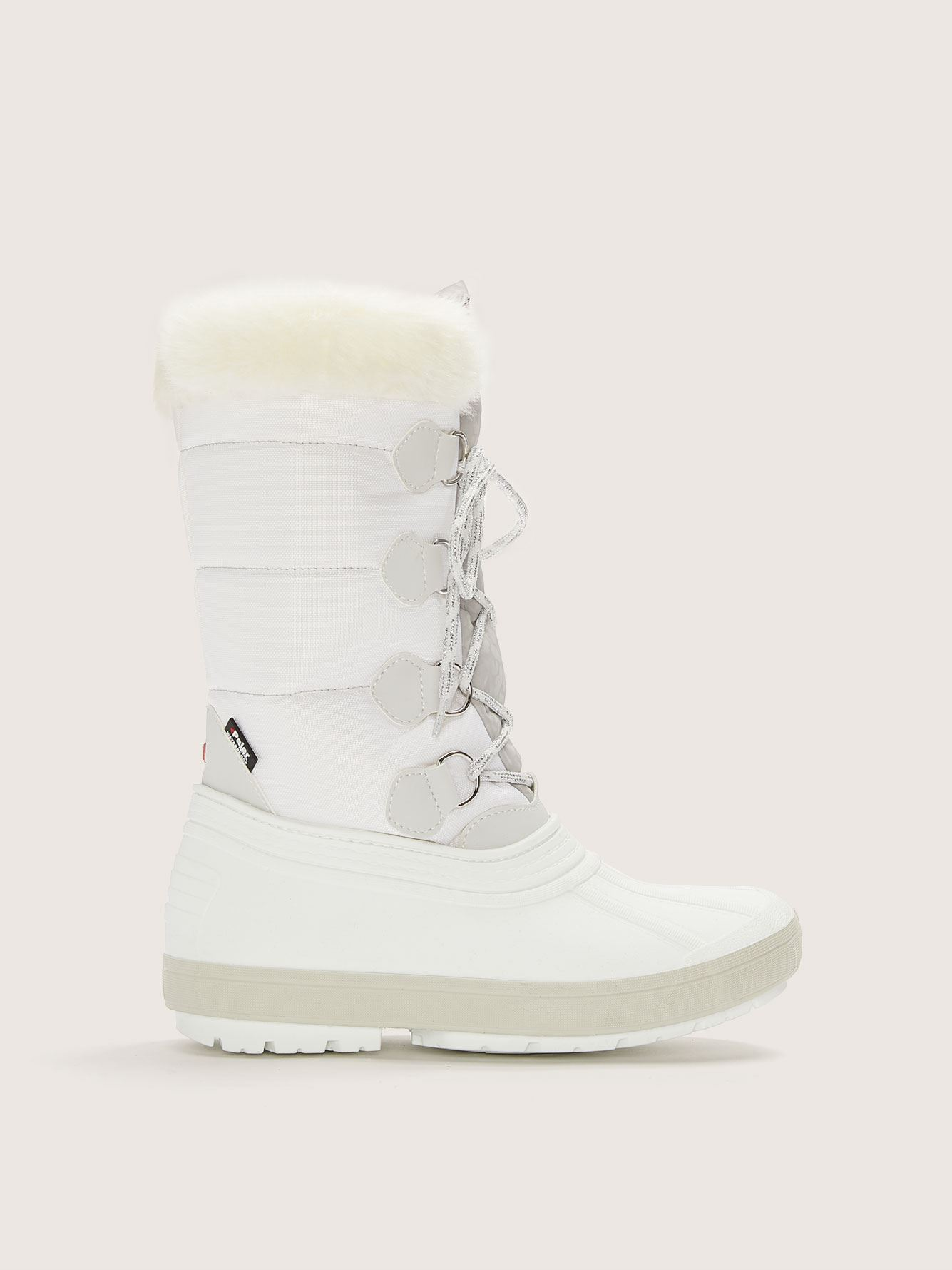 Wide Olga Winter Boot with Faux Fur - Pajar