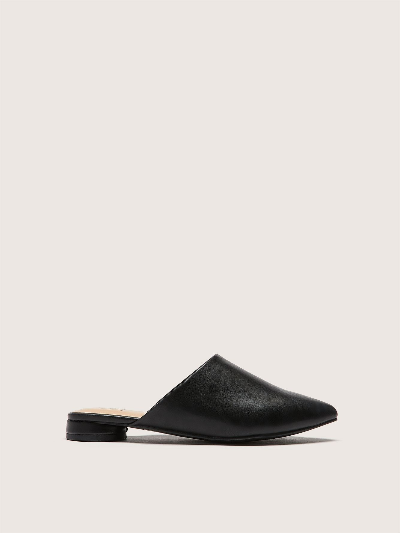 Wide Pointed Toe Mule - Addition Elle