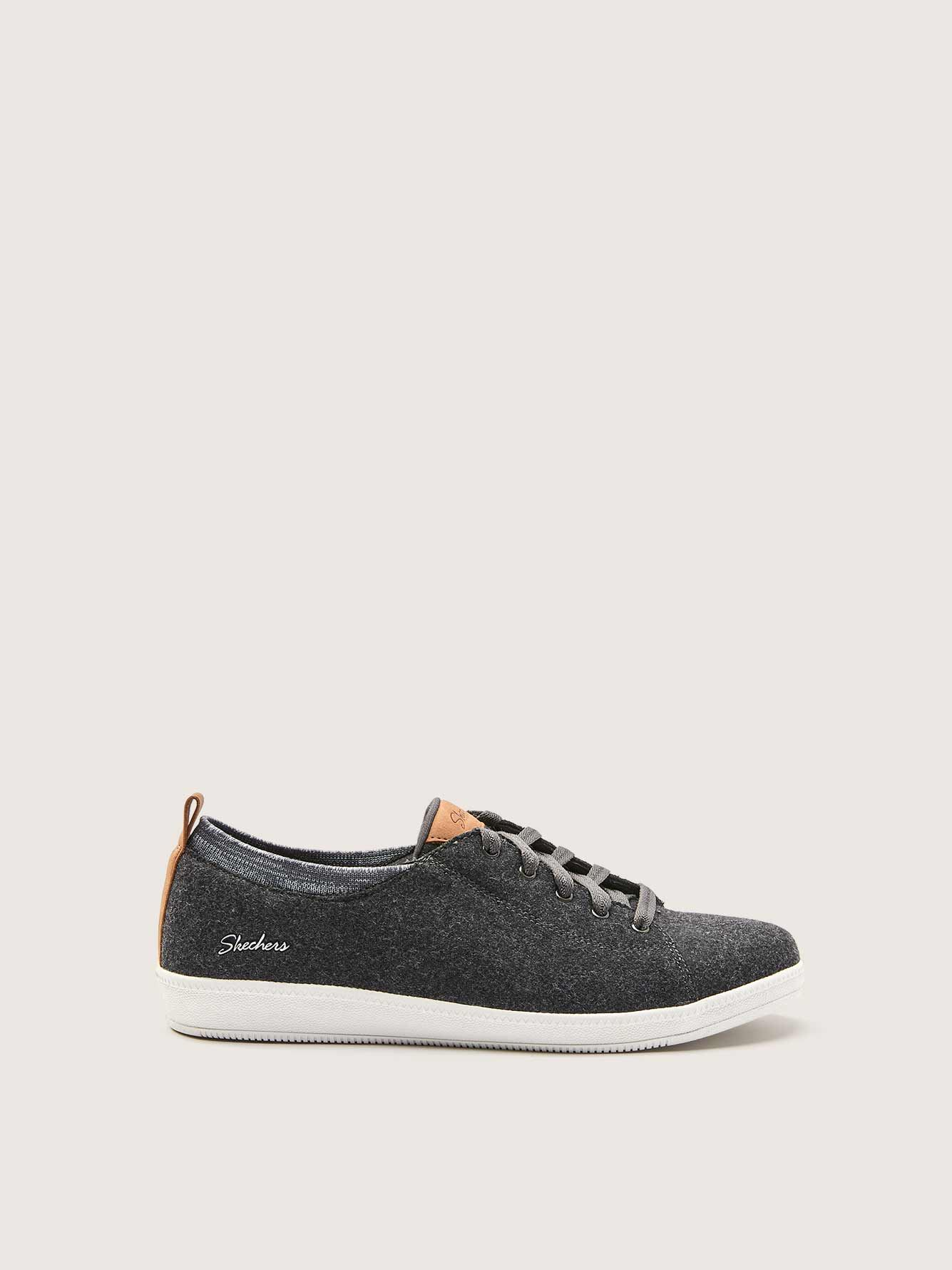 Wide Width Lace Up Slip On Madison Shoes - Skechers