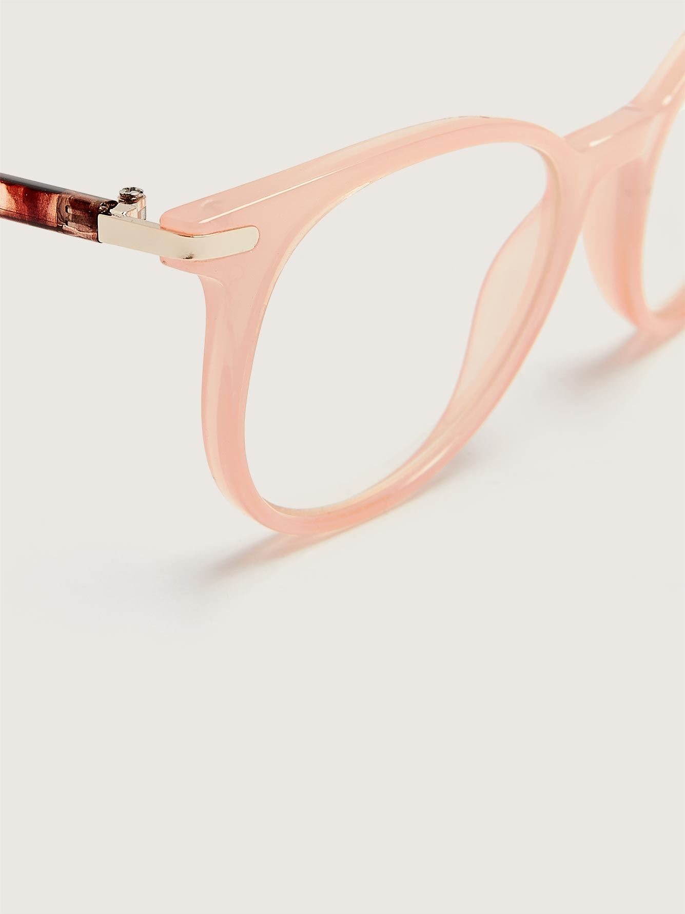 Blue Lens Coral Glasses - Addition Elle