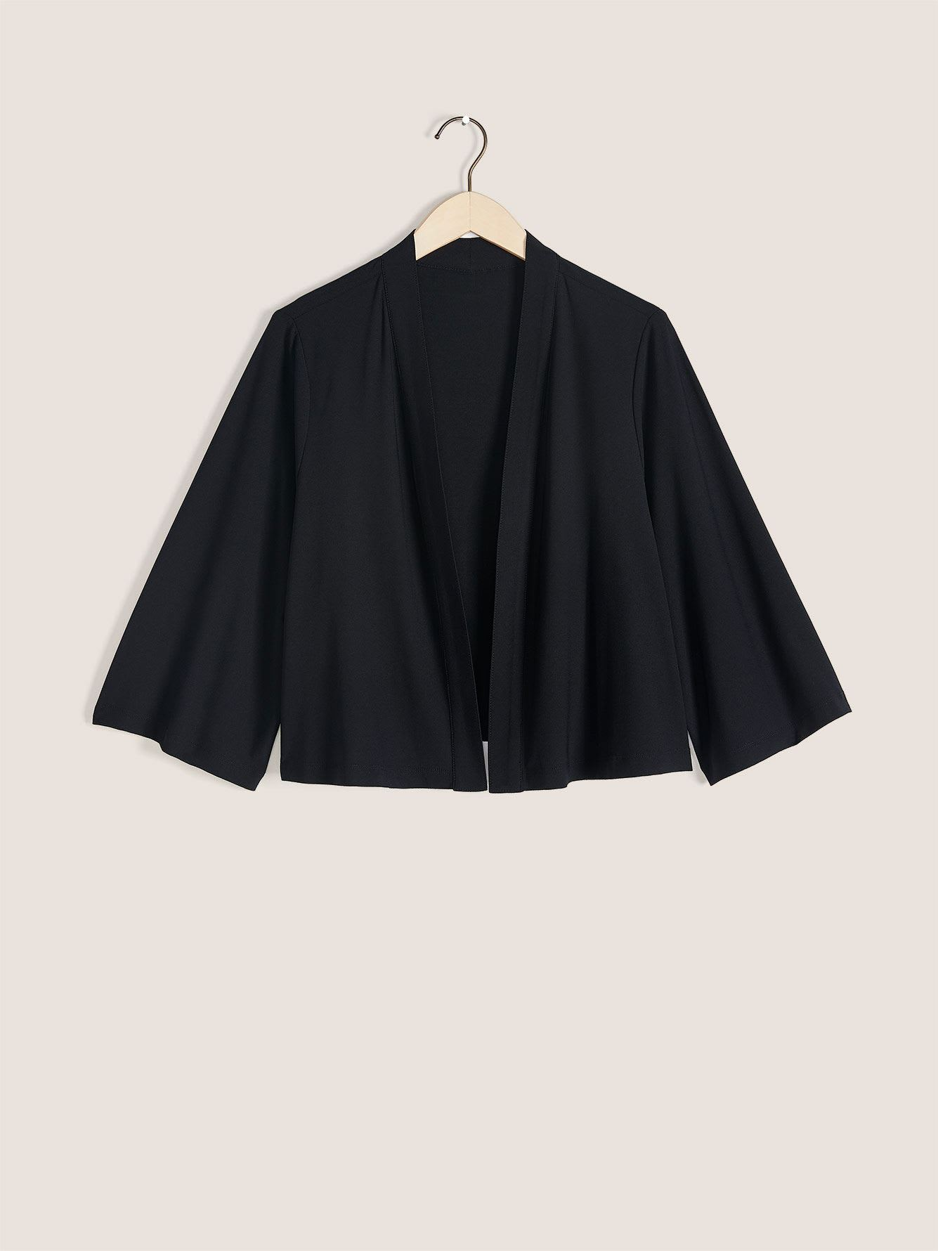 Kimono-Sleeve Cropped Cover-Up - In Every Story