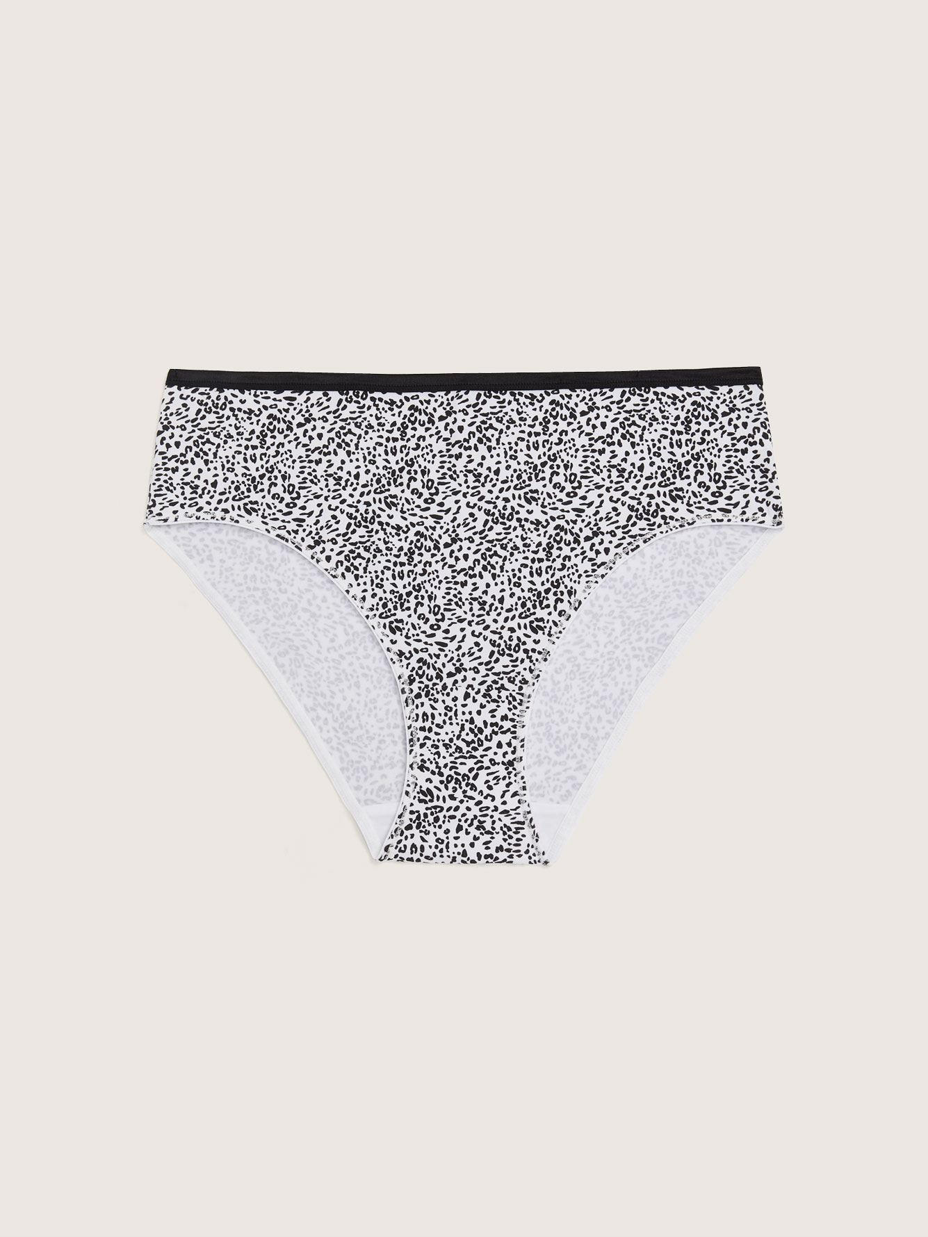 Leopard Print High Cut Brief Panty - Addition Elle