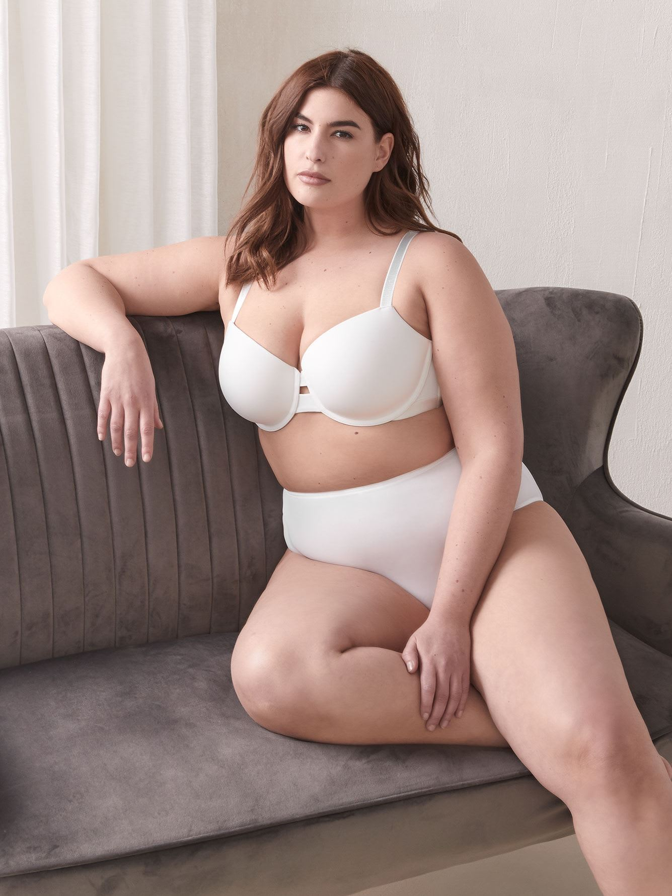 Padded Demi Cup Bra, G & H Cups
