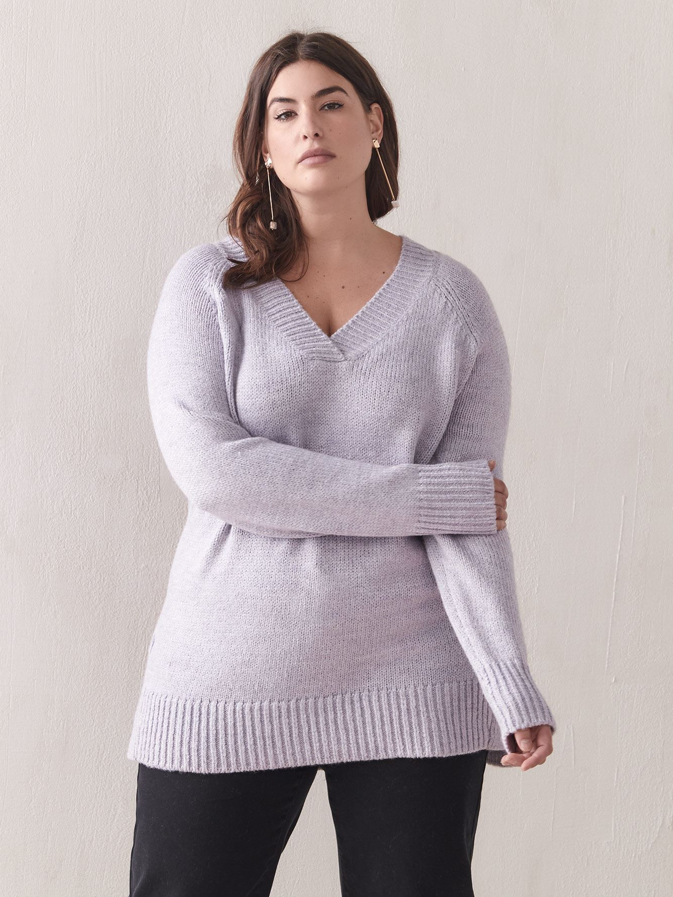 Relaxed Tunic Sweater - Addition Elle