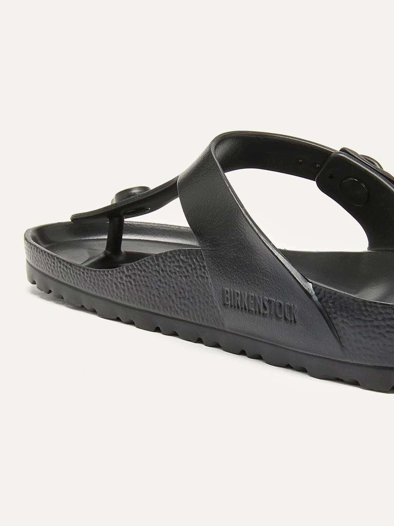 Wide Solid Thong Sandals - Birkenstock
